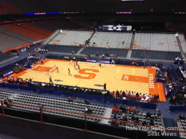 Syracuse Orange Seat View For Carrier Dome Section 309