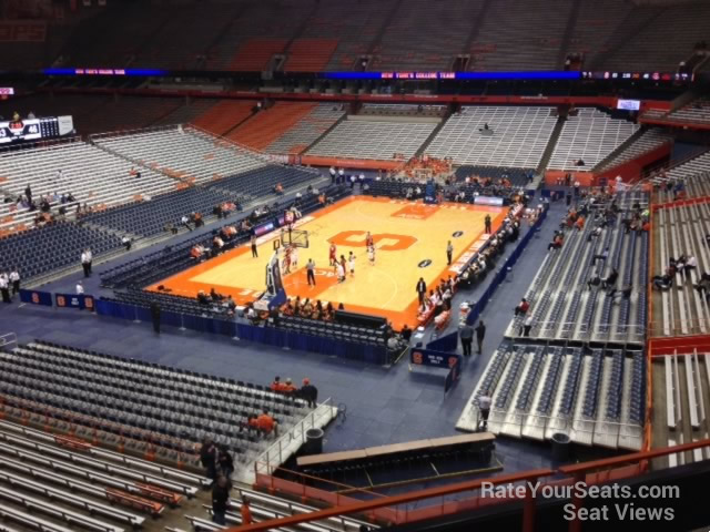 Carrier Dome Section 314 Syracuse Basketball Rateyourseats Com