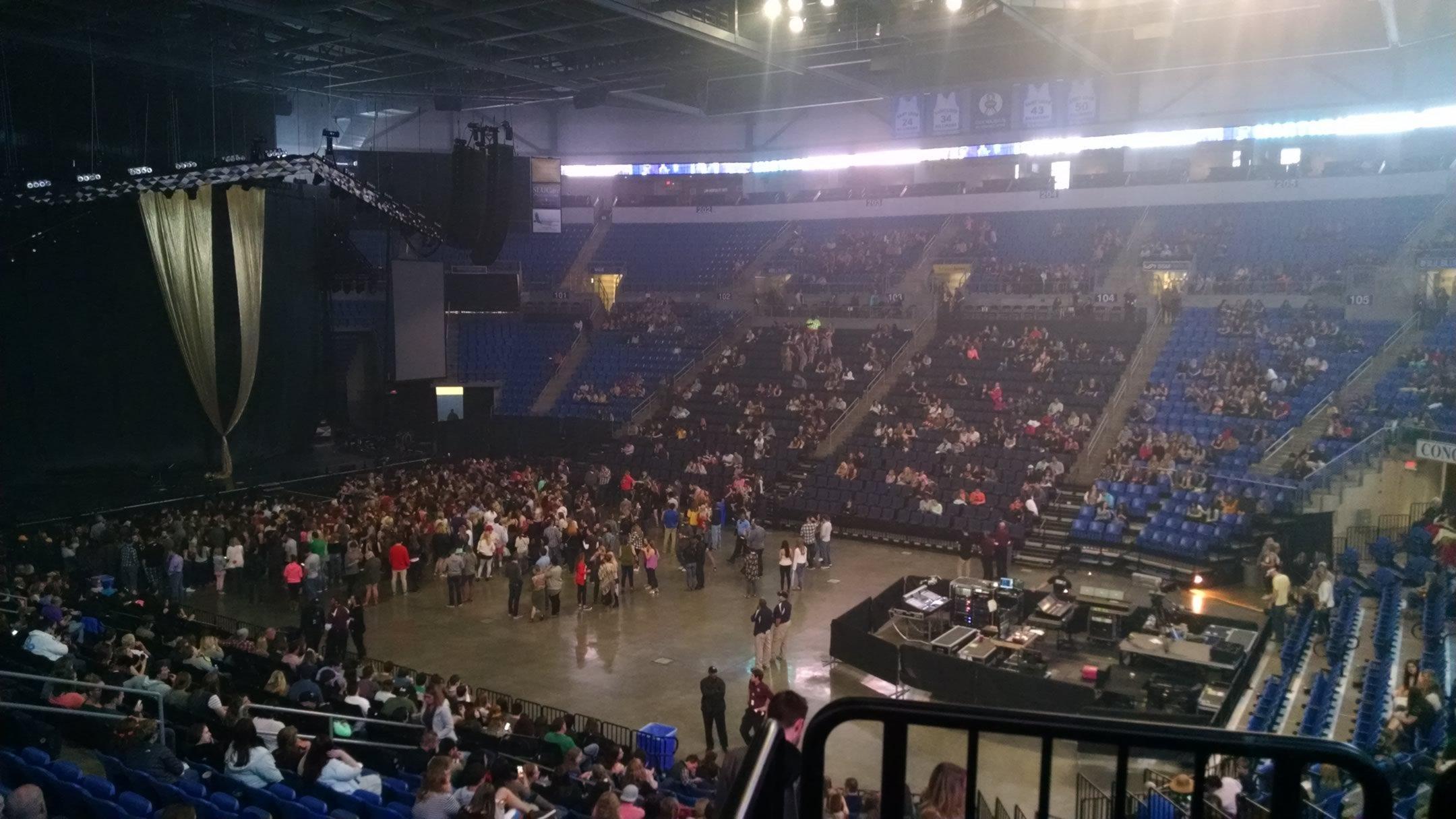 Chaifetz Arena Floor Concert Seating Rateyourseats Com