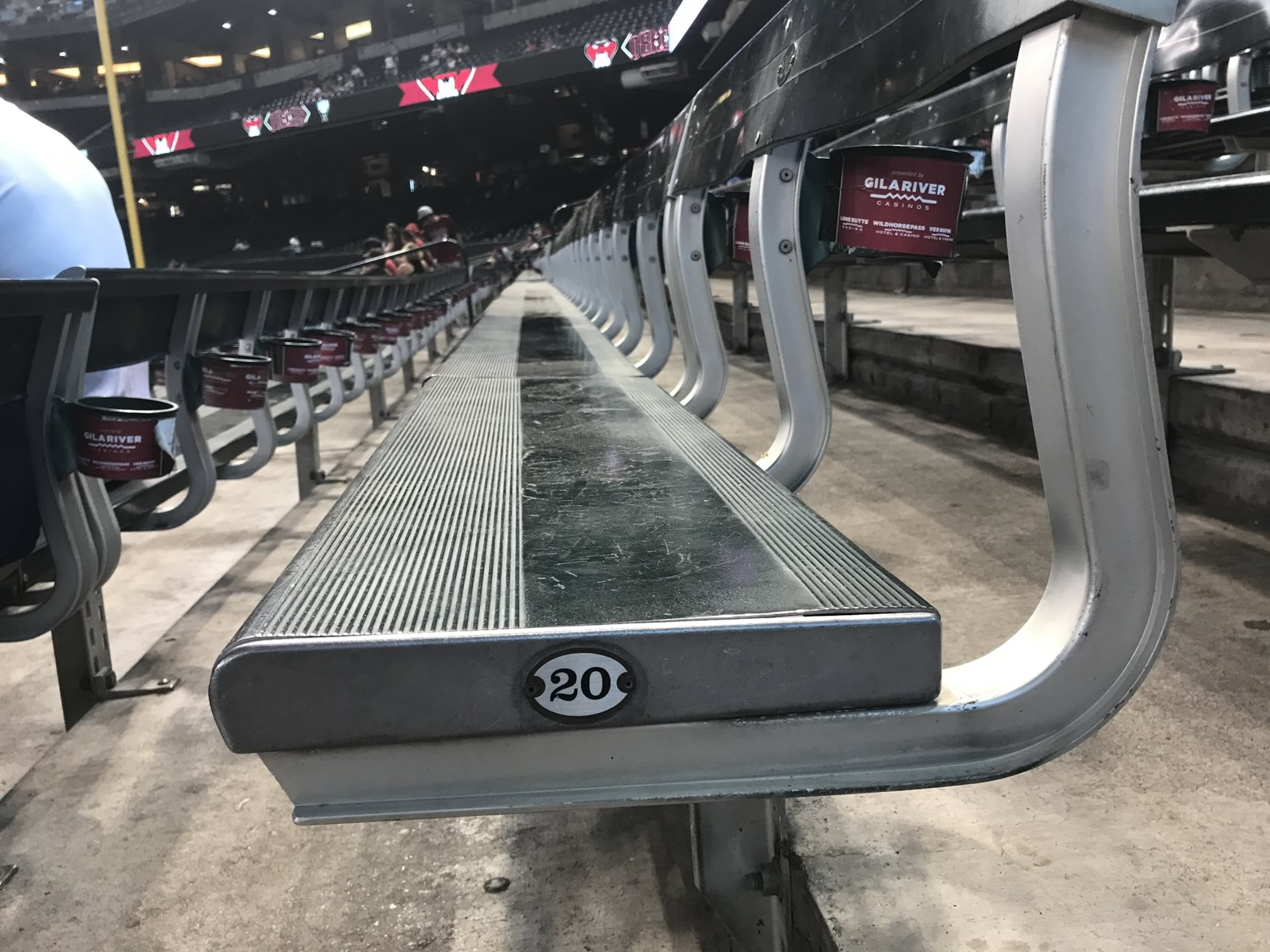 chase field bleachers