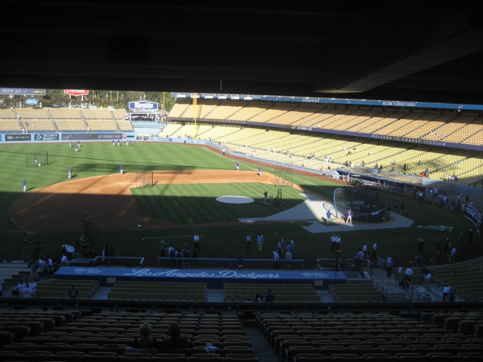 Los Angeles Dodgers Seating Guide - Dodger Stadium