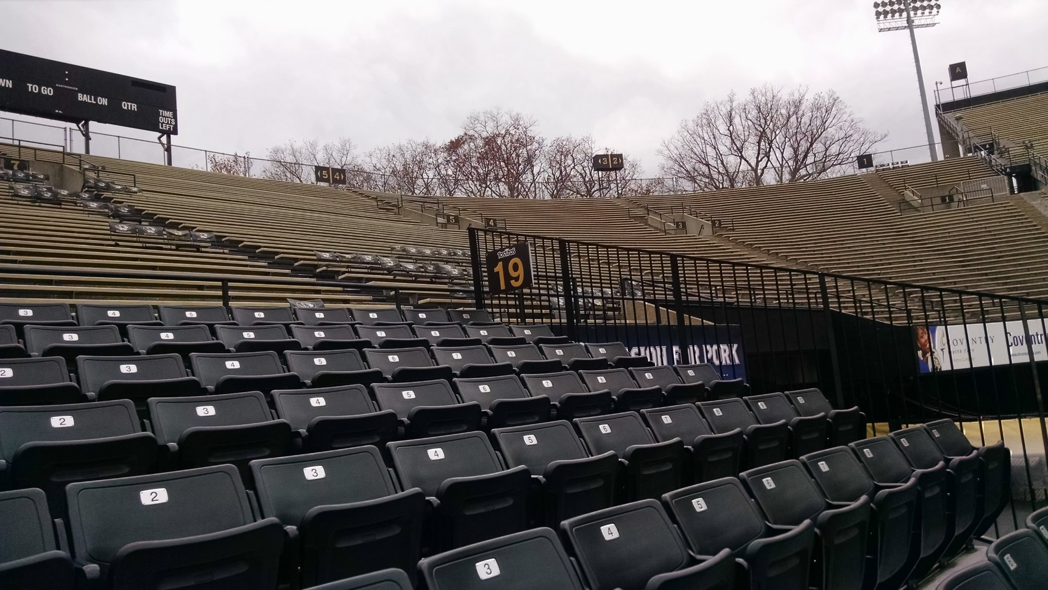 Faurot Field Section 24 Rateyourseats Com