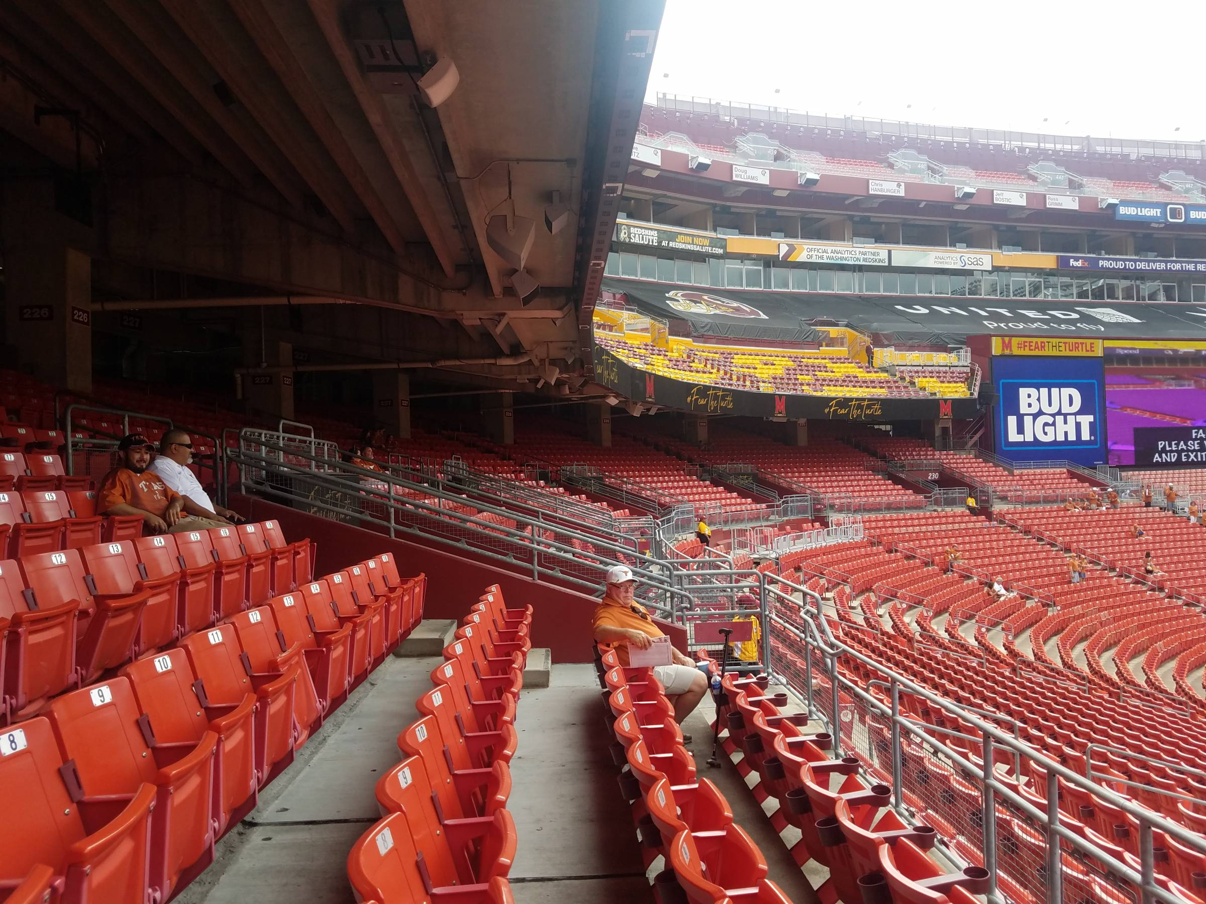 Fedexfield Seating For Redskins Games Rateyourseats Com