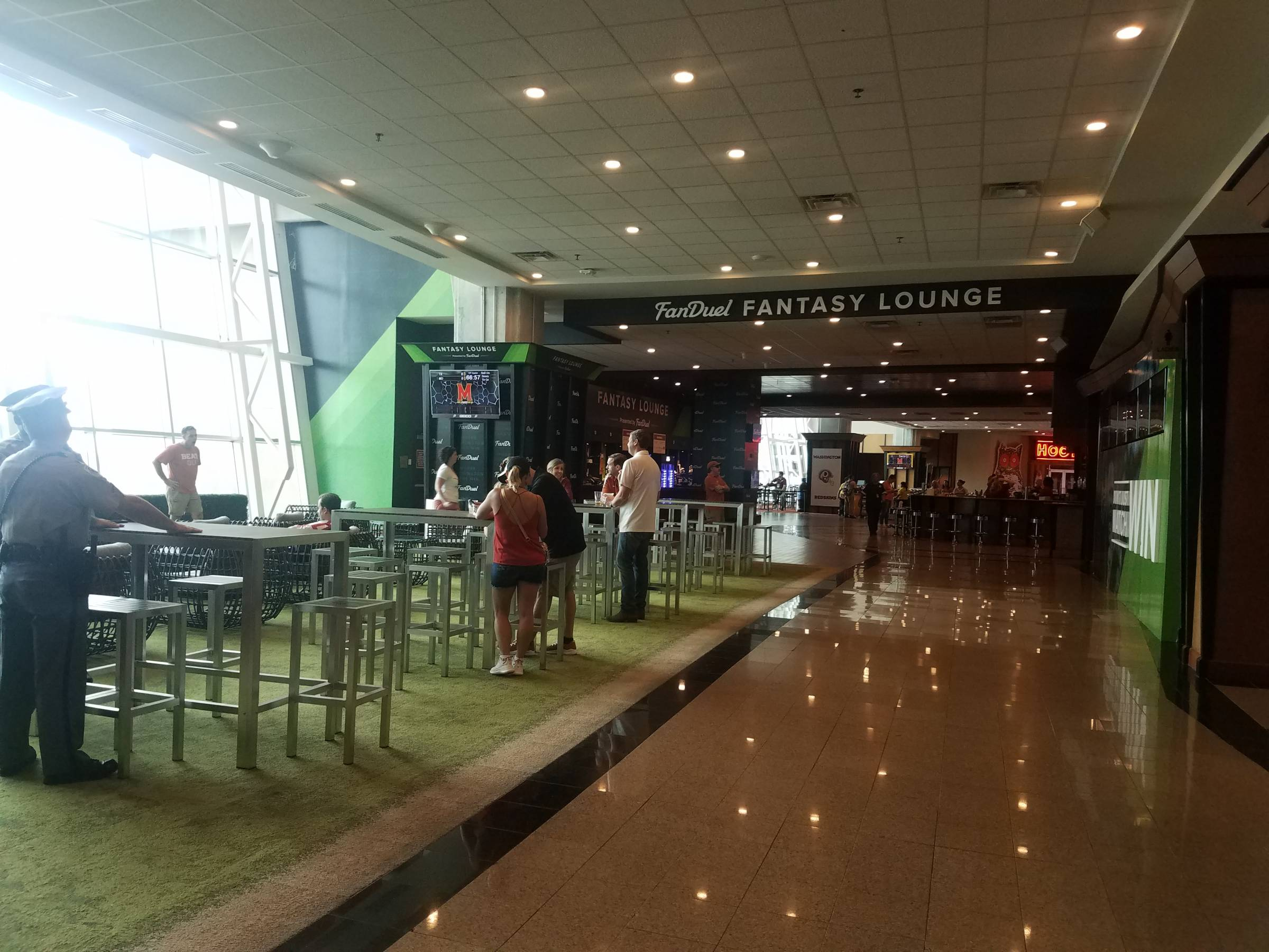 Redskins Club Level Seats At Fedexfield Rateyourseats Com