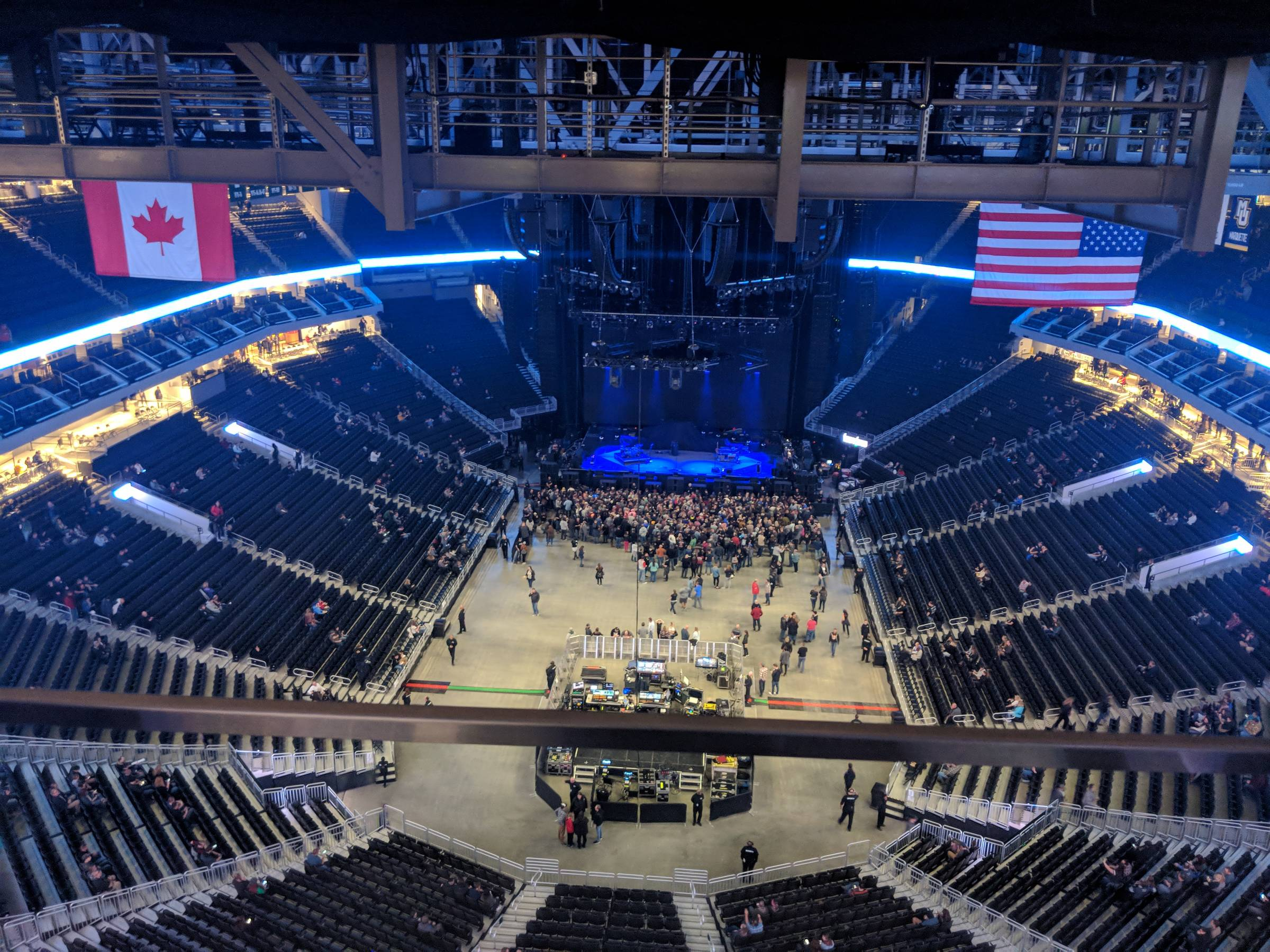 Fiserv Forum Concert Seating Guide Rateyourseats Com
