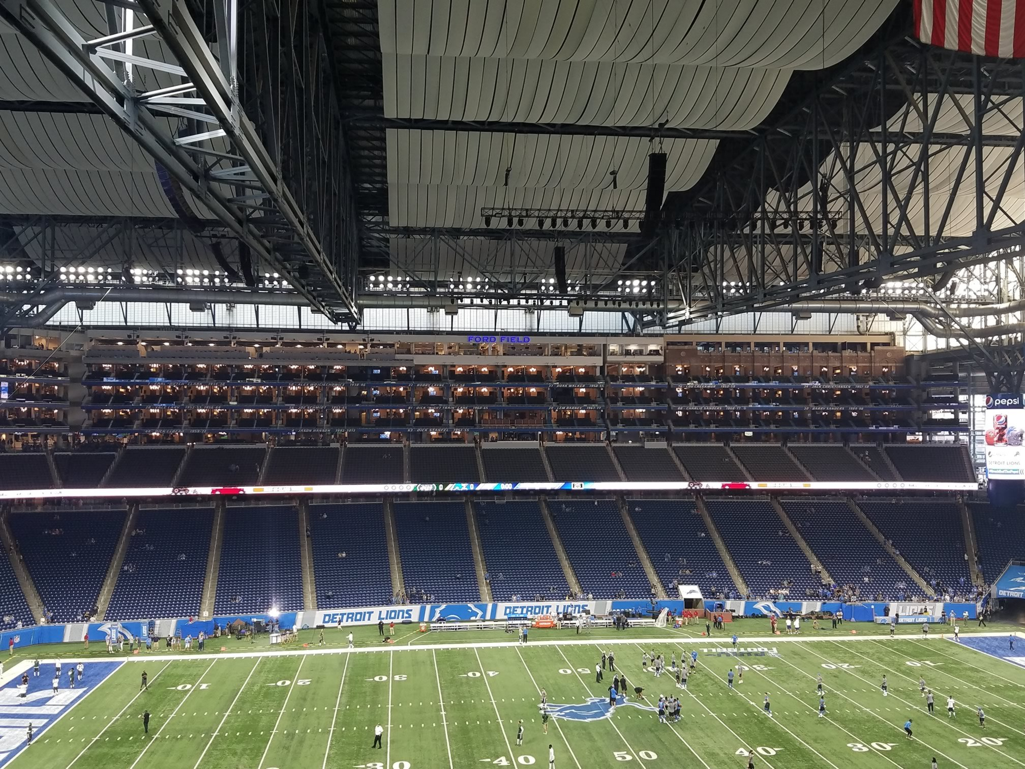 Ford Field Seating For Lions Games Rateyourseats Com