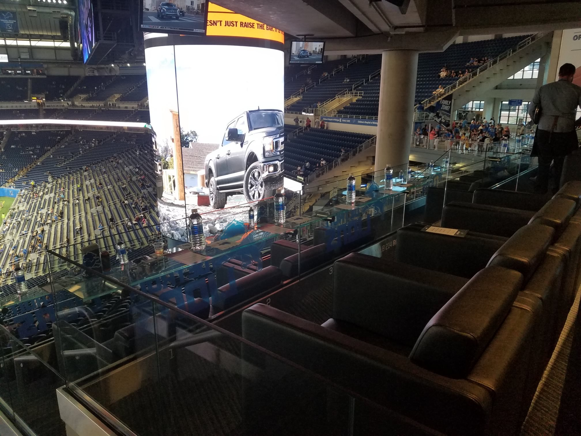 Detroit Lions Seating Guide Ford Field Rateyourseats Com