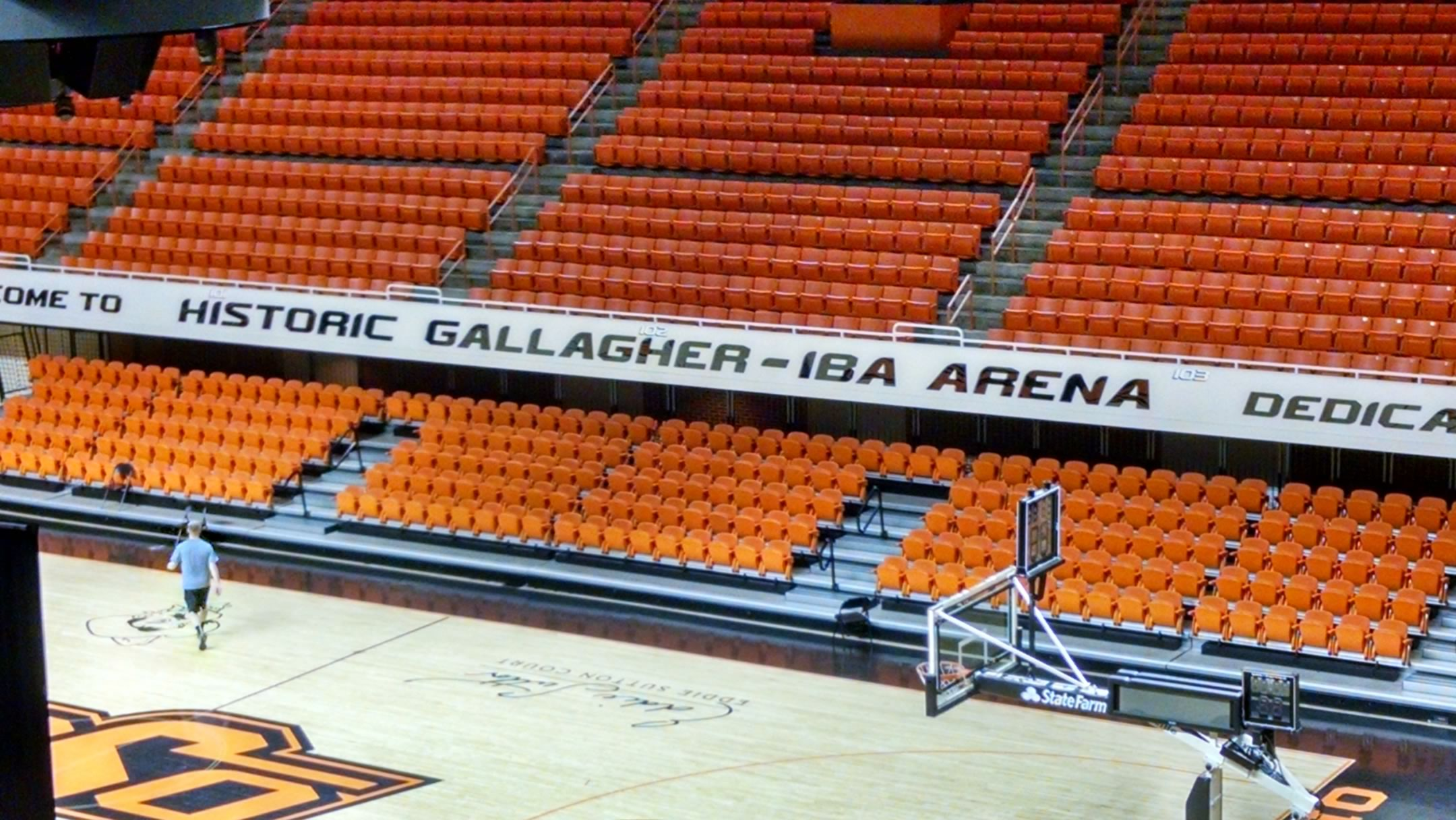 Gallagher Iba Arena Section 110 Rateyourseats Com