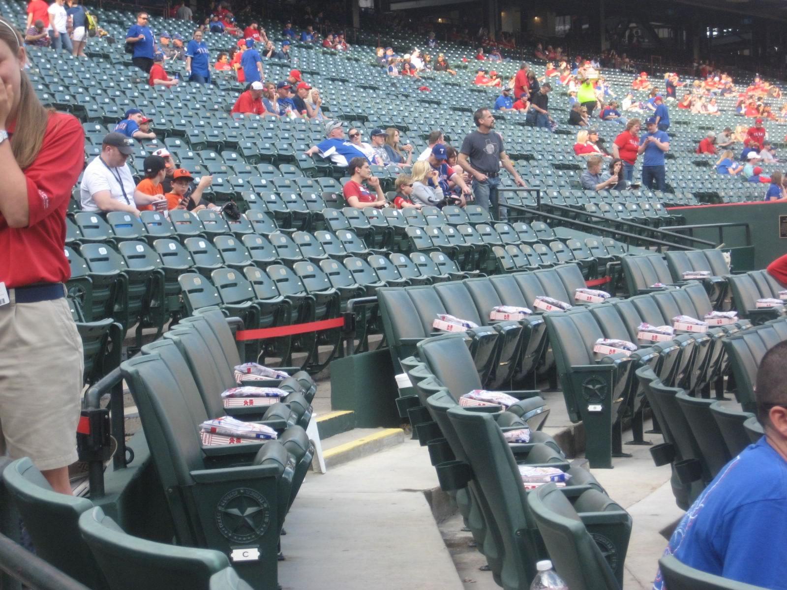 Texas Rangers Club Seating At Globe Life Park