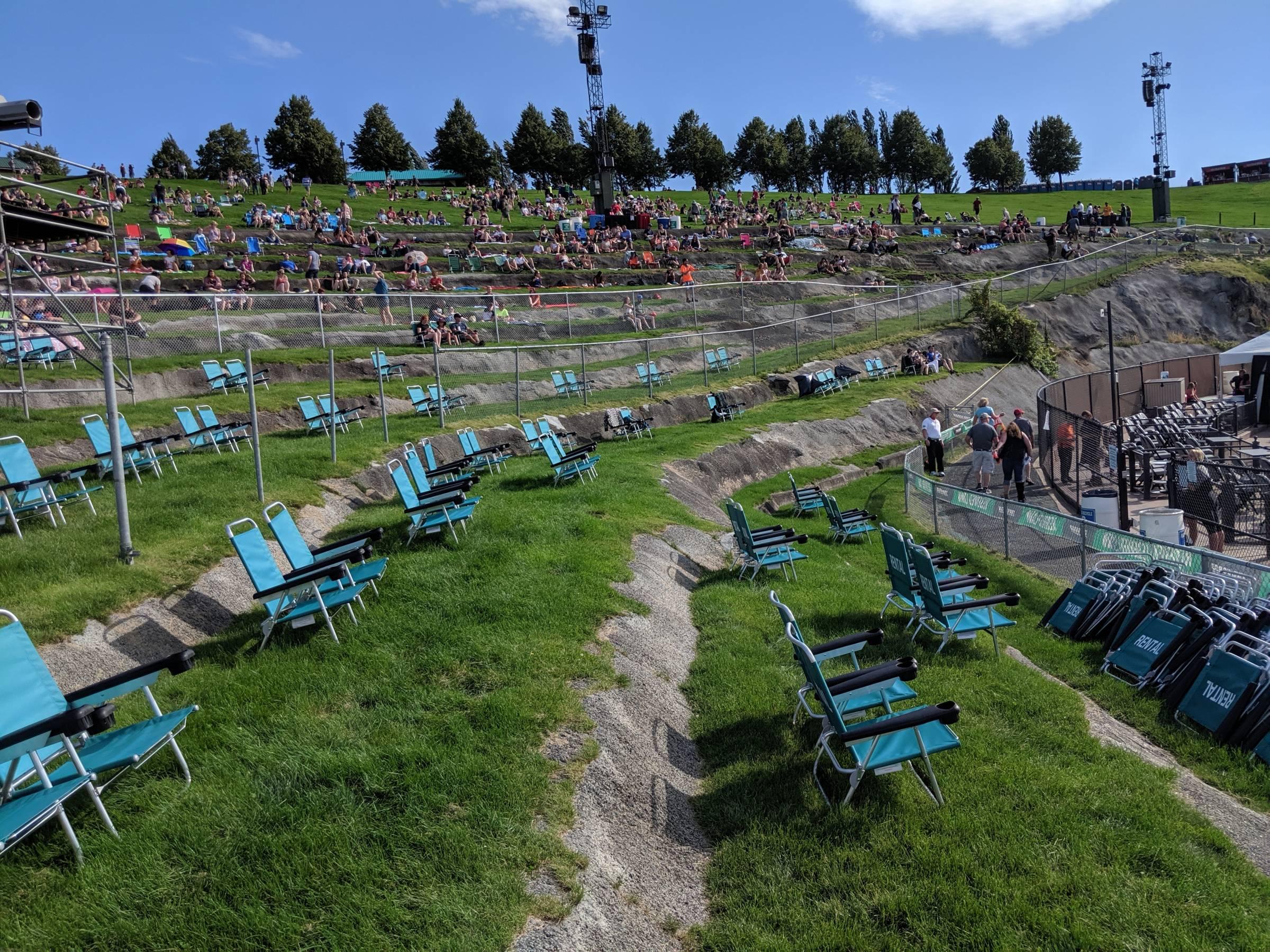 Gorge Amphitheatre Seating Guide Rateyourseatscom