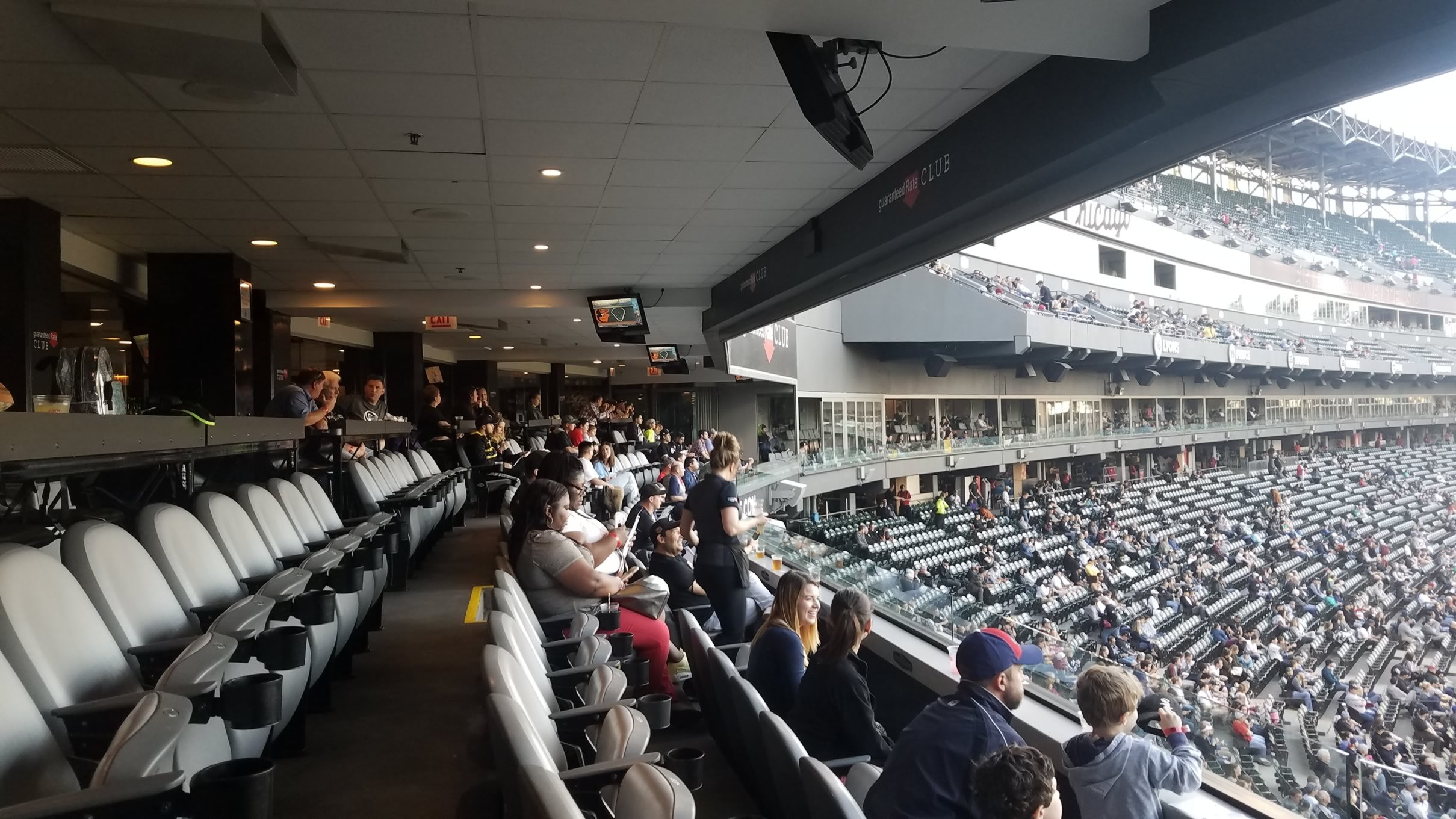 Guaranteed Rate Field Home Plate Club Rateyourseats Com