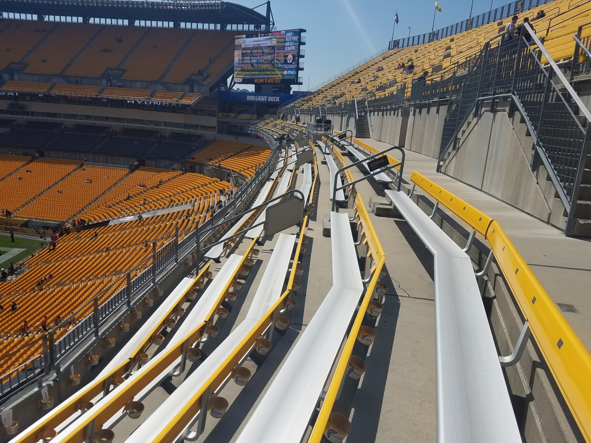 Heinz Field Upper Level North - Football Seating ...