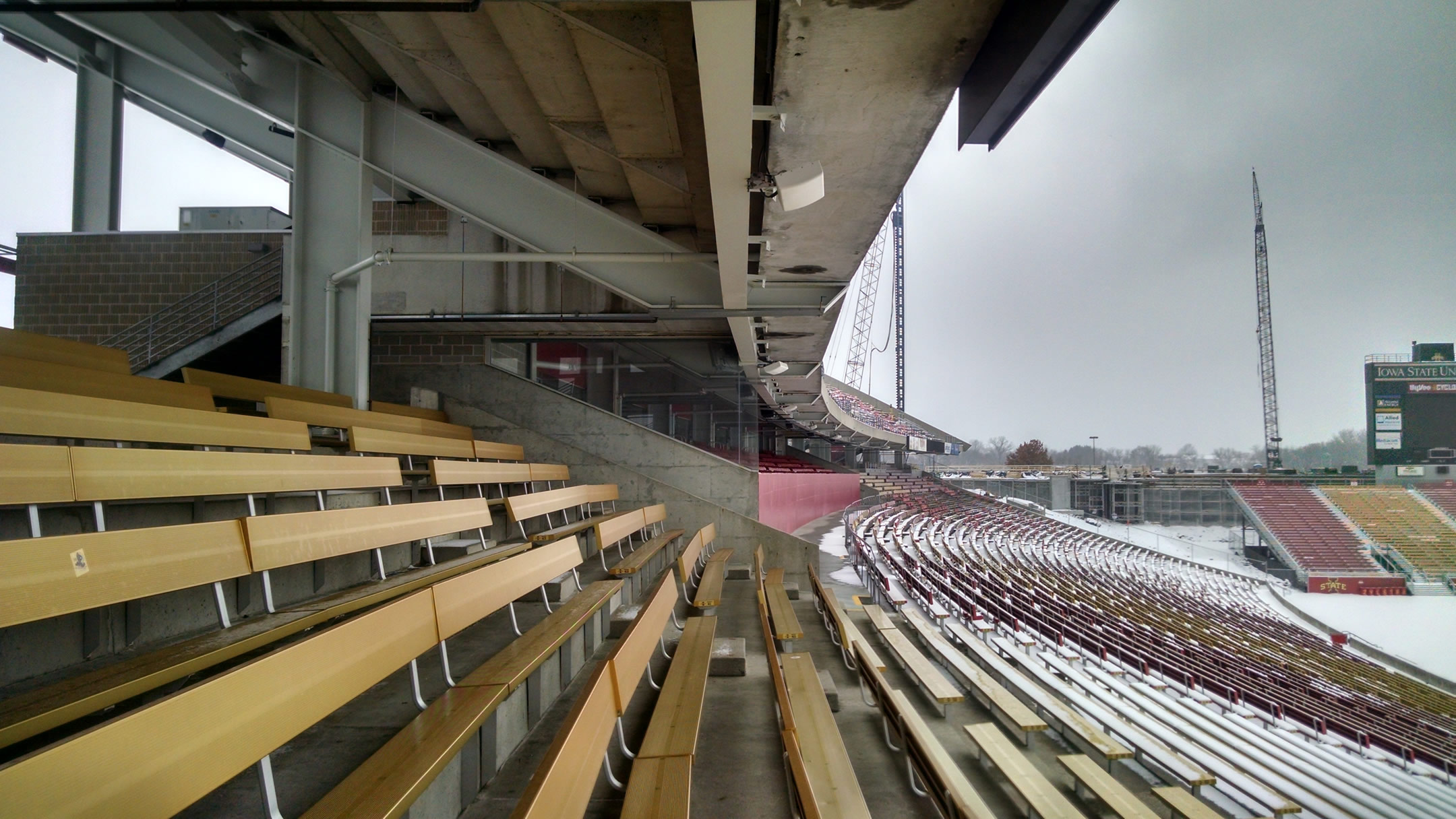 covered seats