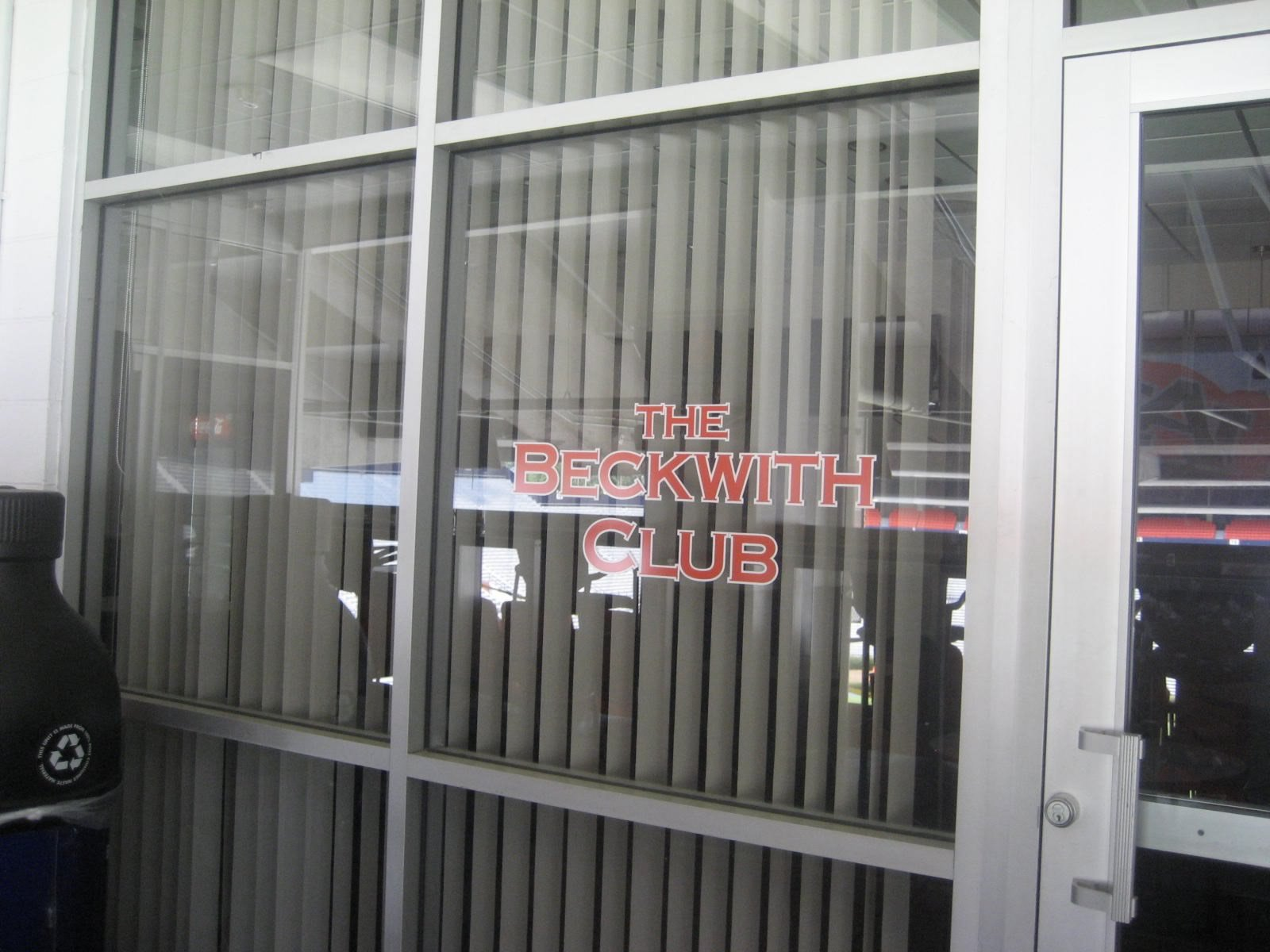Beckwith Club Entrance