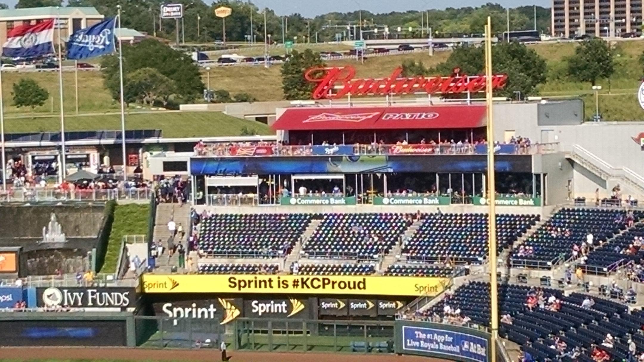 Kauffman Stadium Section 151 RateYourSeats