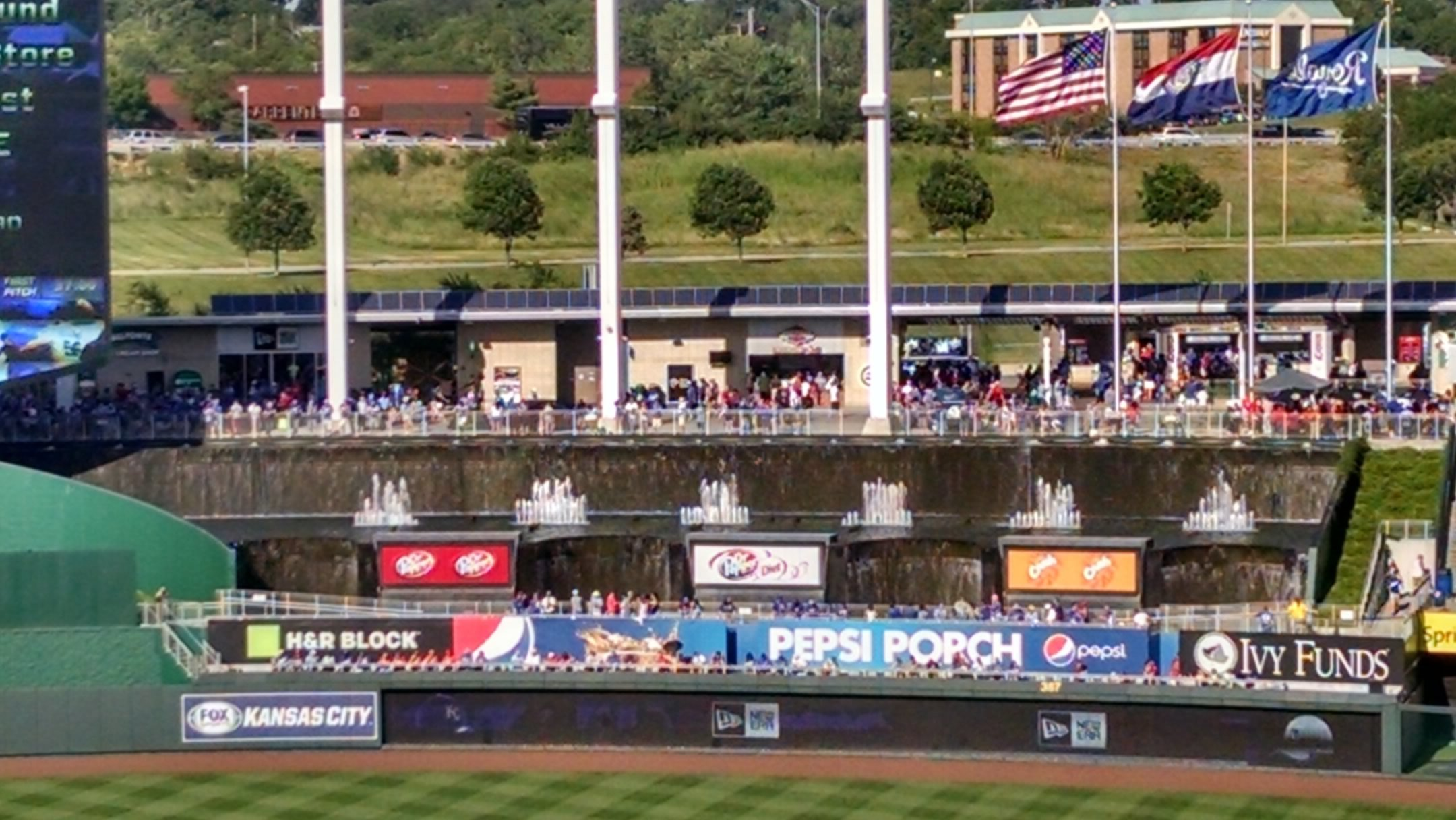 Kauffman Stadium Standing Room Only