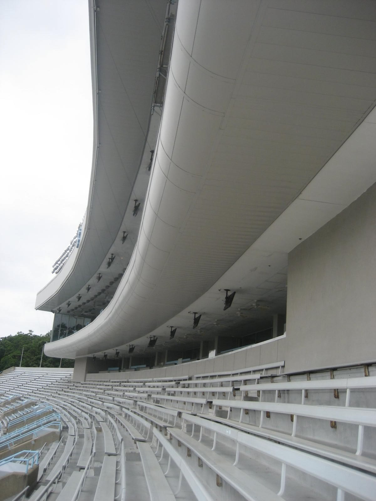 Kenan Memorial Stadium Upper Deck Seats