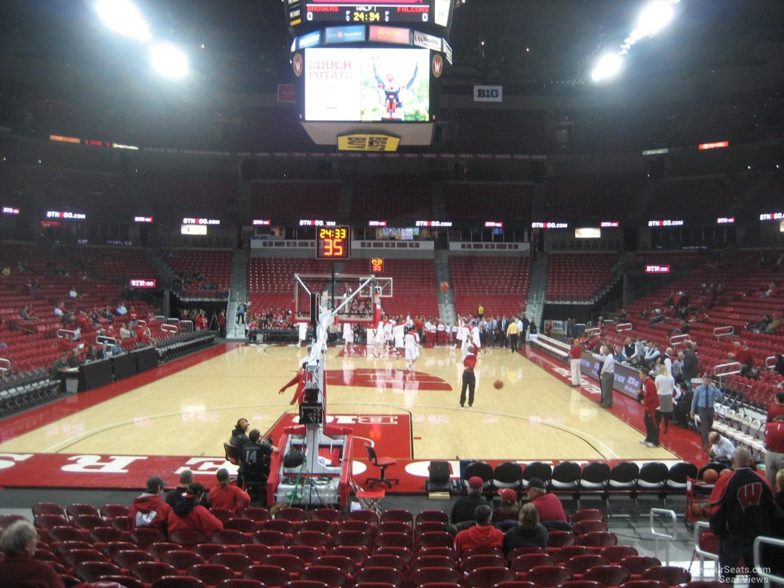 Kohl Center Section 101 RateYourSeats