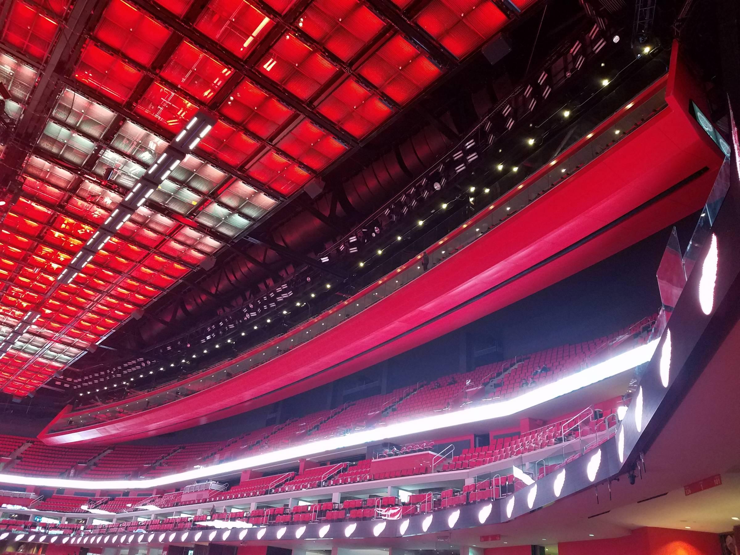 Little Caesars Arena Lower Gondola - Detroit Red Wings - RateYourSeats.com