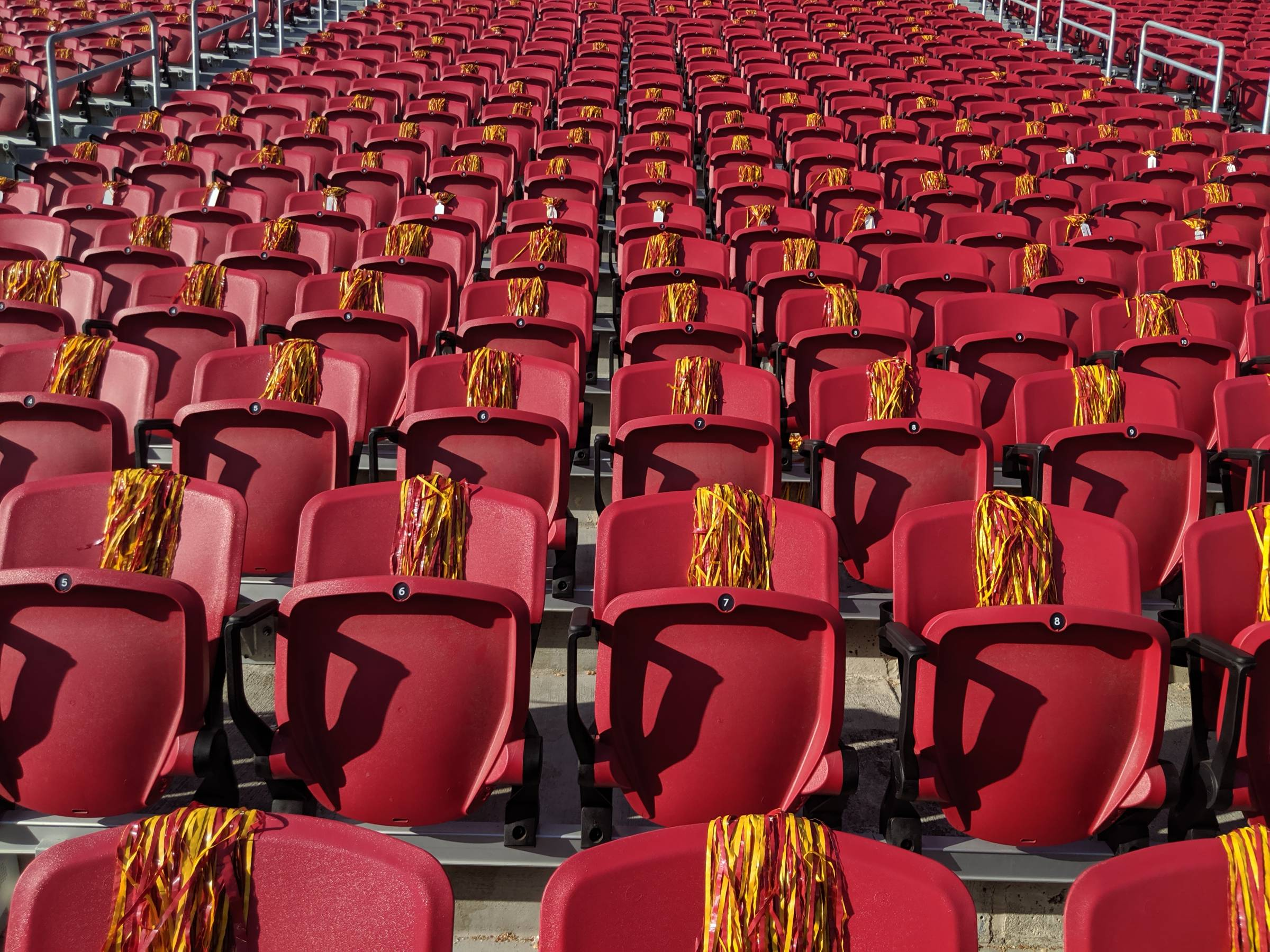Student Sections for USC games