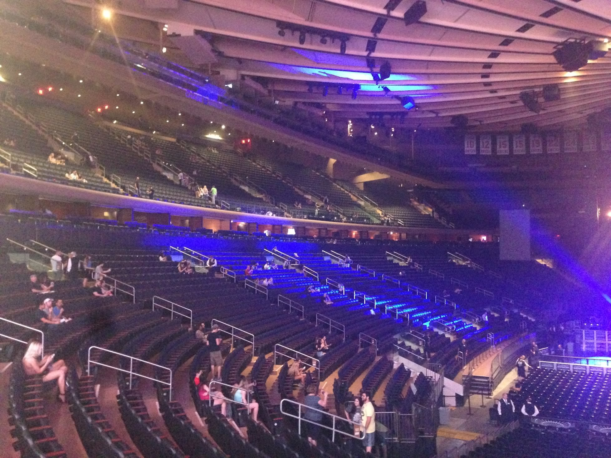 Madison Square Garden 100 Level Side Seats