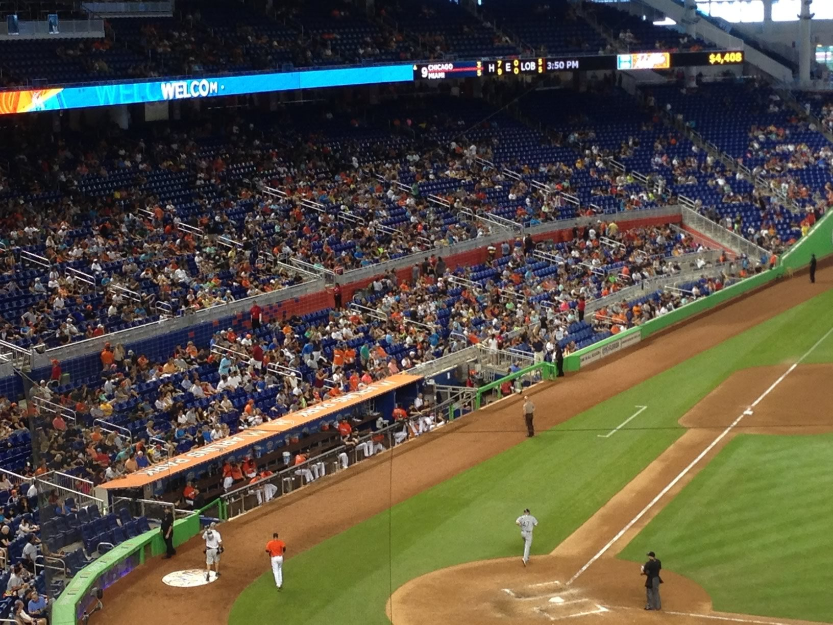 Miami Marlins Seating Guide Marlins Park Rateyourseats Com
