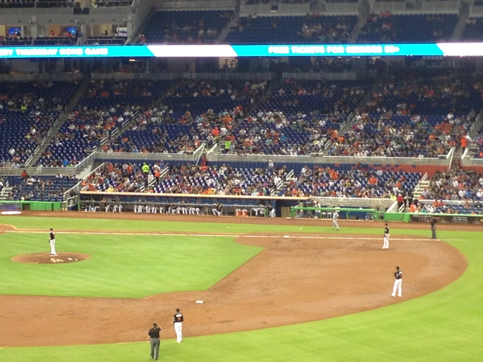 Miami Marlins Seating Guide Marlins Park Rateyourseatscom