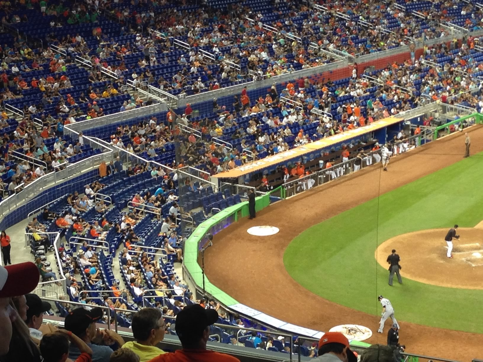 Marlins Park Diamond Club Seats