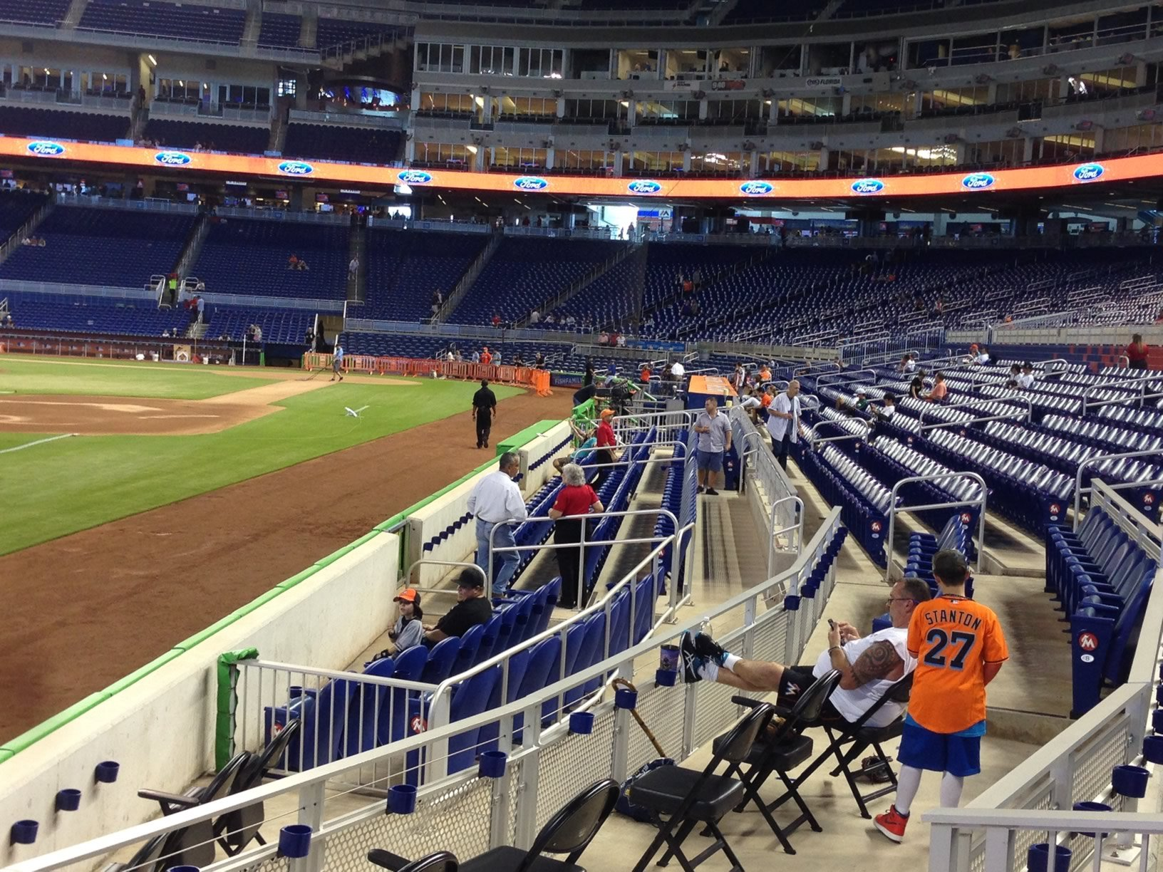 Marlins Park Field Level Sections 9-11