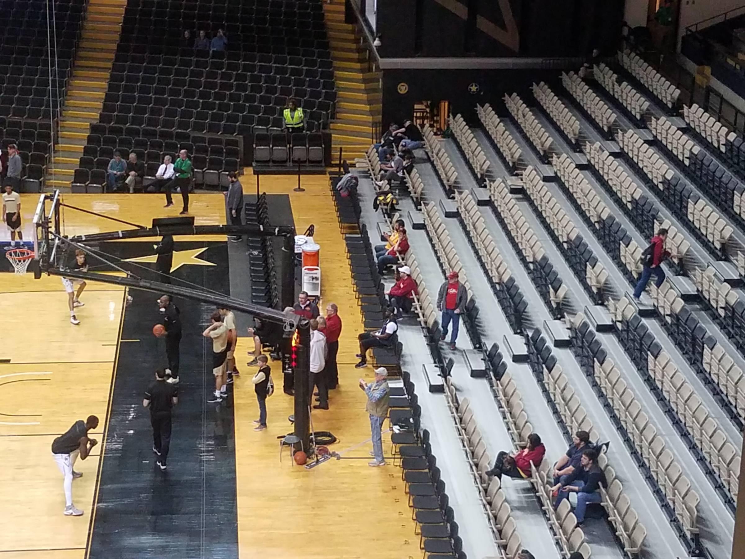 Memorial Gymnasium Vanderbilt Seating Guide