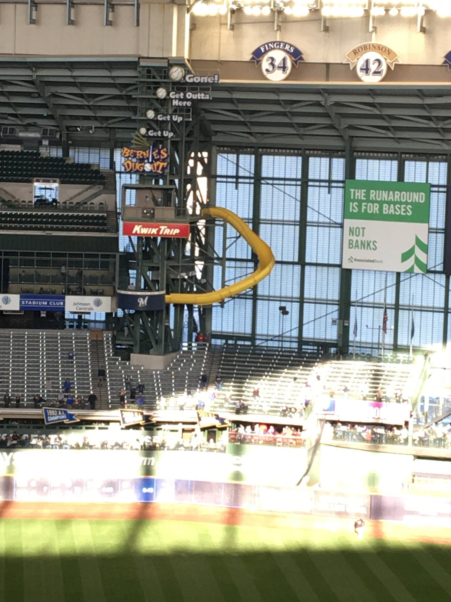 Milwaukee Brewers Seating Guide Miller Park Rateyourseatscom