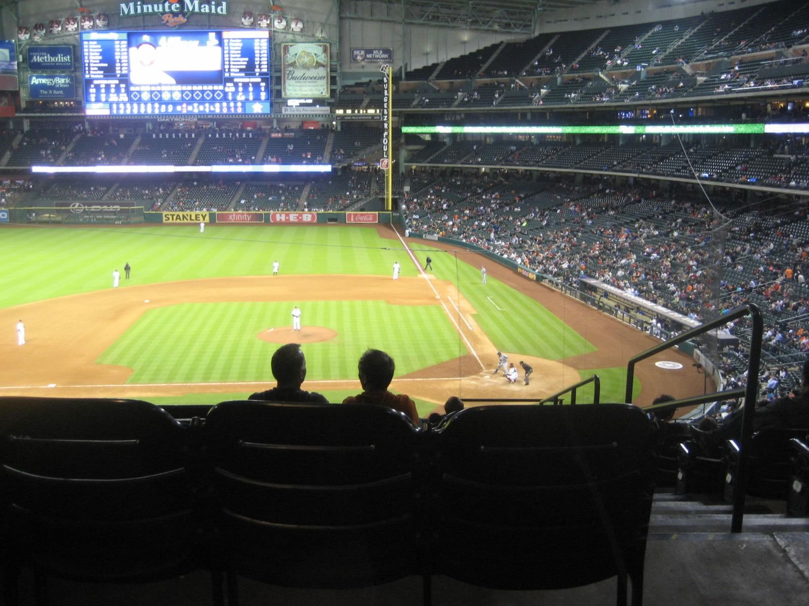Houston Astros Club Seating At Minute Maid Park Rateyourseatscom
