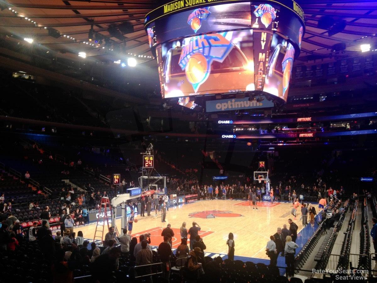 Knicks Interactive Seat Map Brokeasshome Com