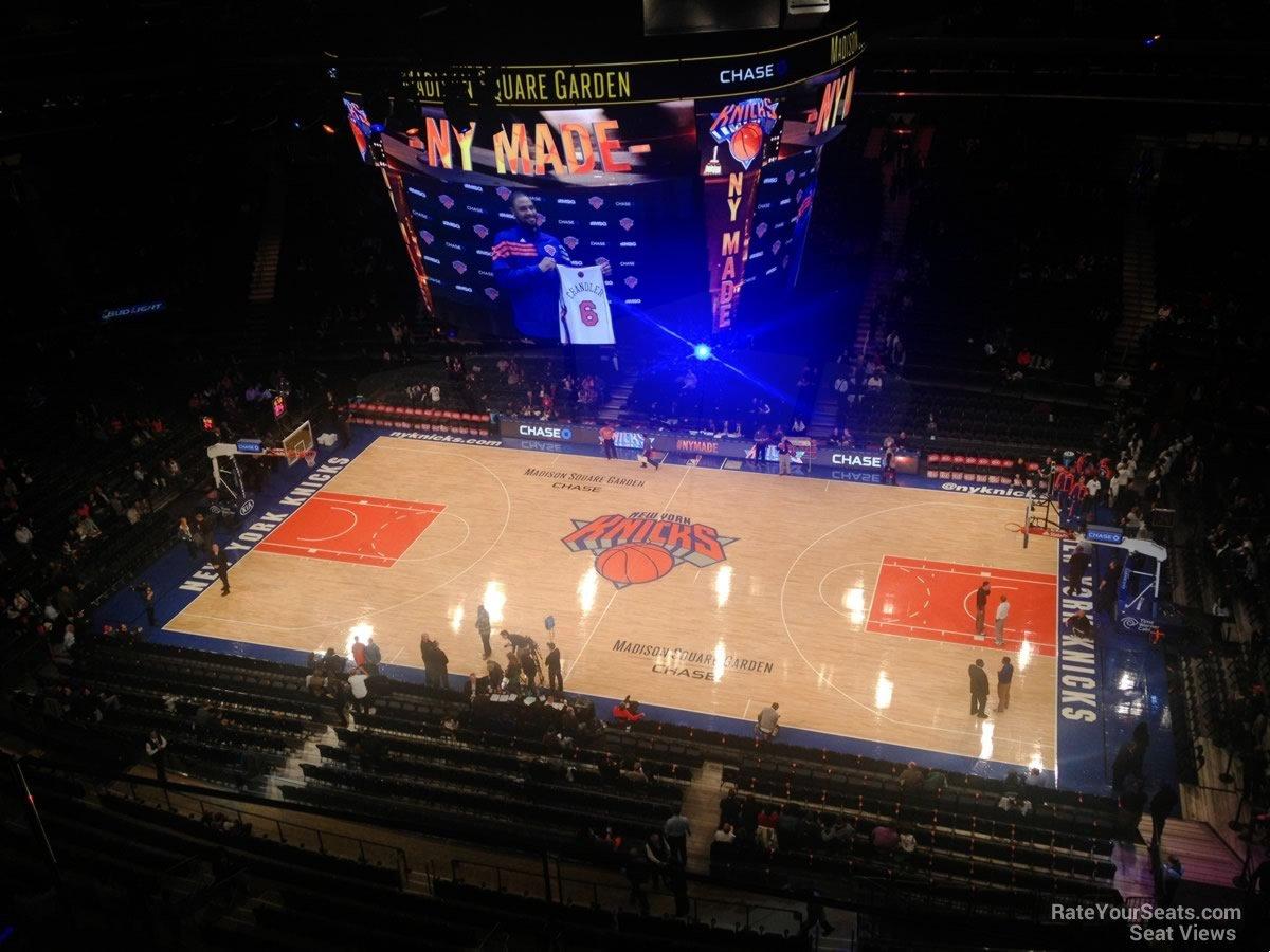 Madison Square Garden Section 326 New York Knicks