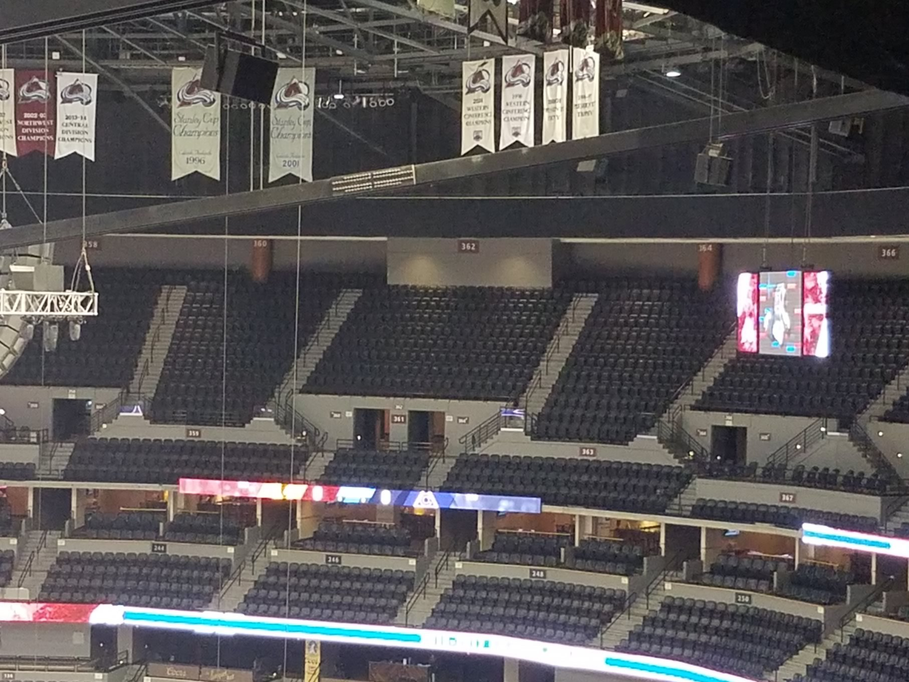 pepsi center upper level