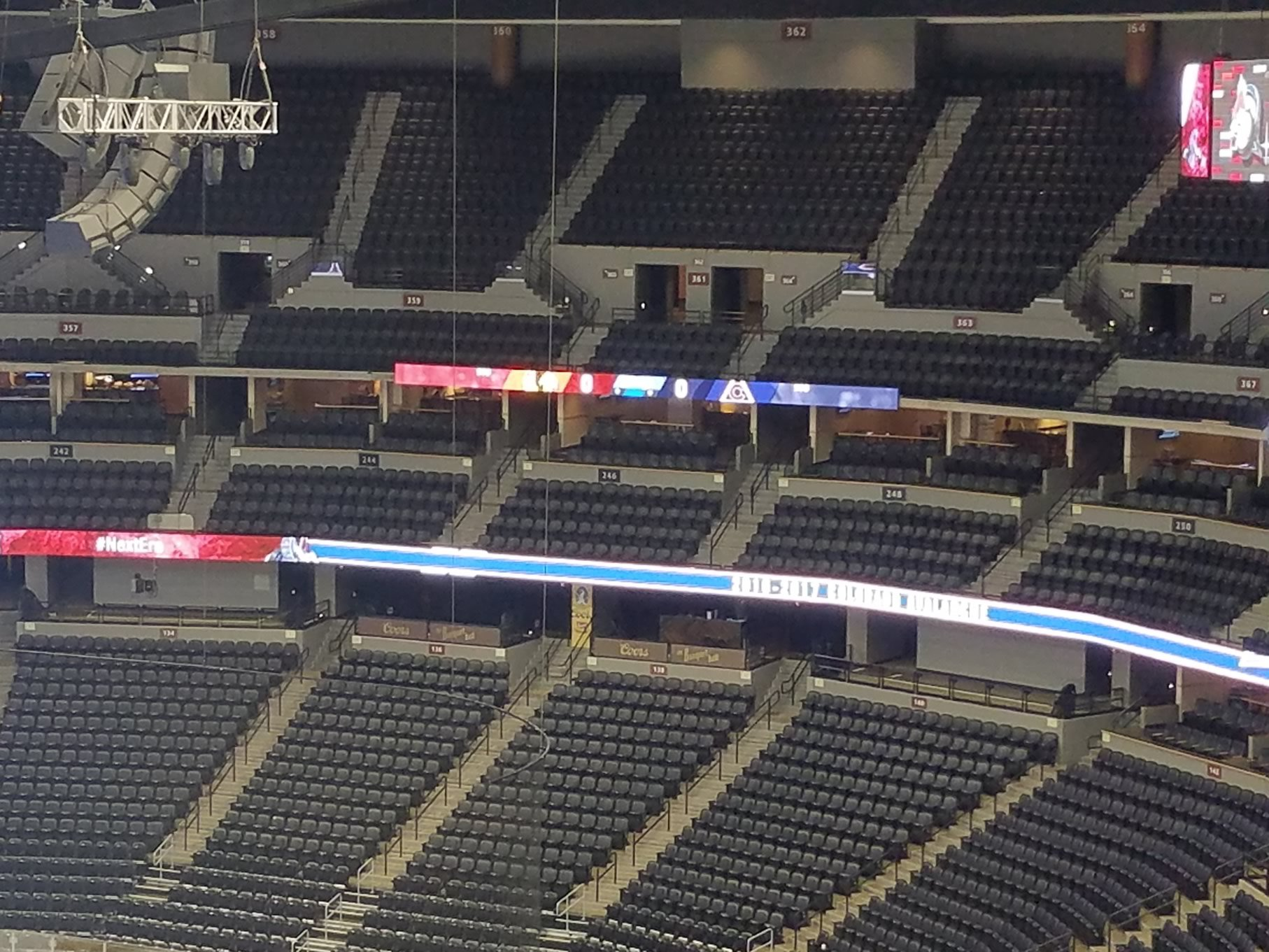 Colorado Avalanche Club Seating At Pepsi Center