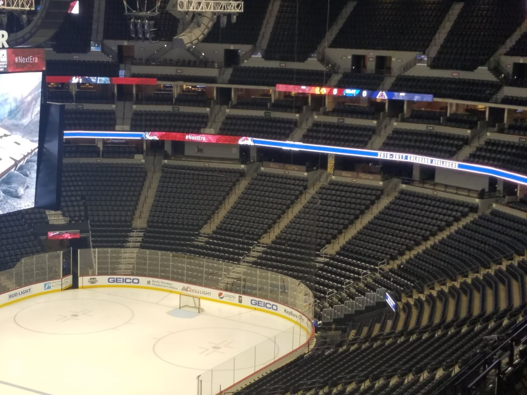 Pepsi Center: Colorado Avalanche Seating Guide