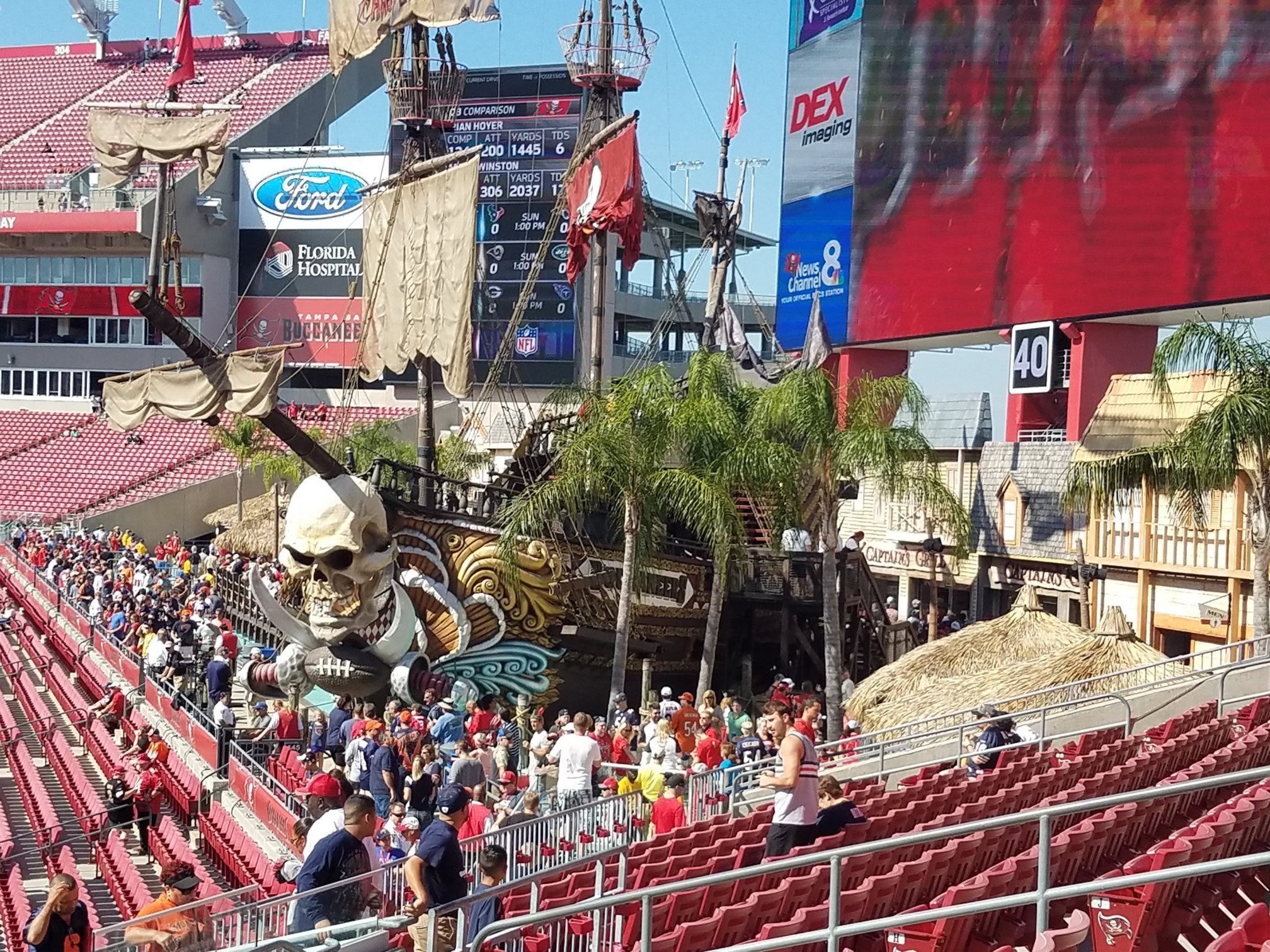 6ff71cf5 Tampa Bay Buccaneers Seating Guide - Raymond James Stadium ...
