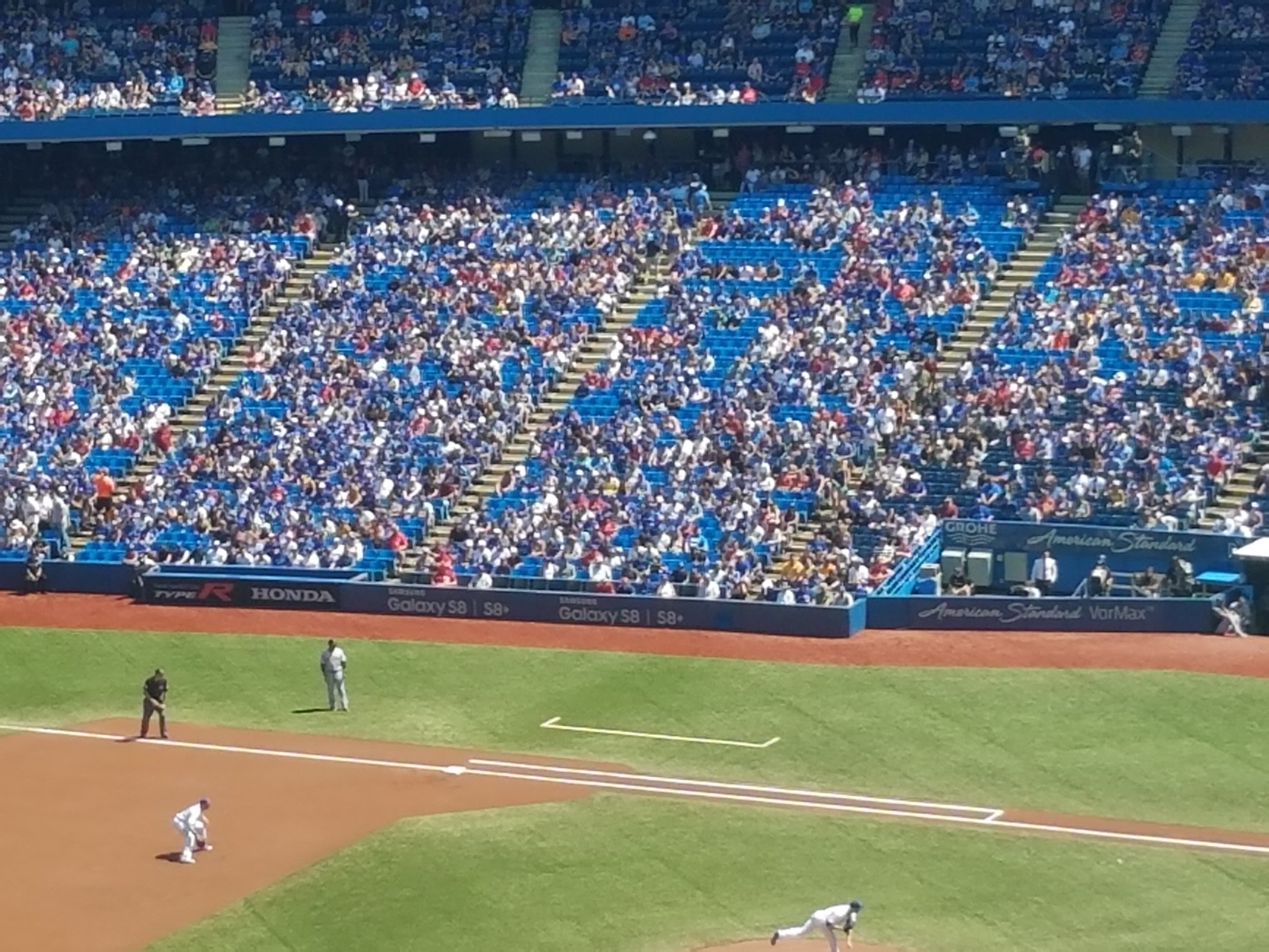 Toronto Blue Jays Seating Guide Rogers Centre Rateyourseatscom