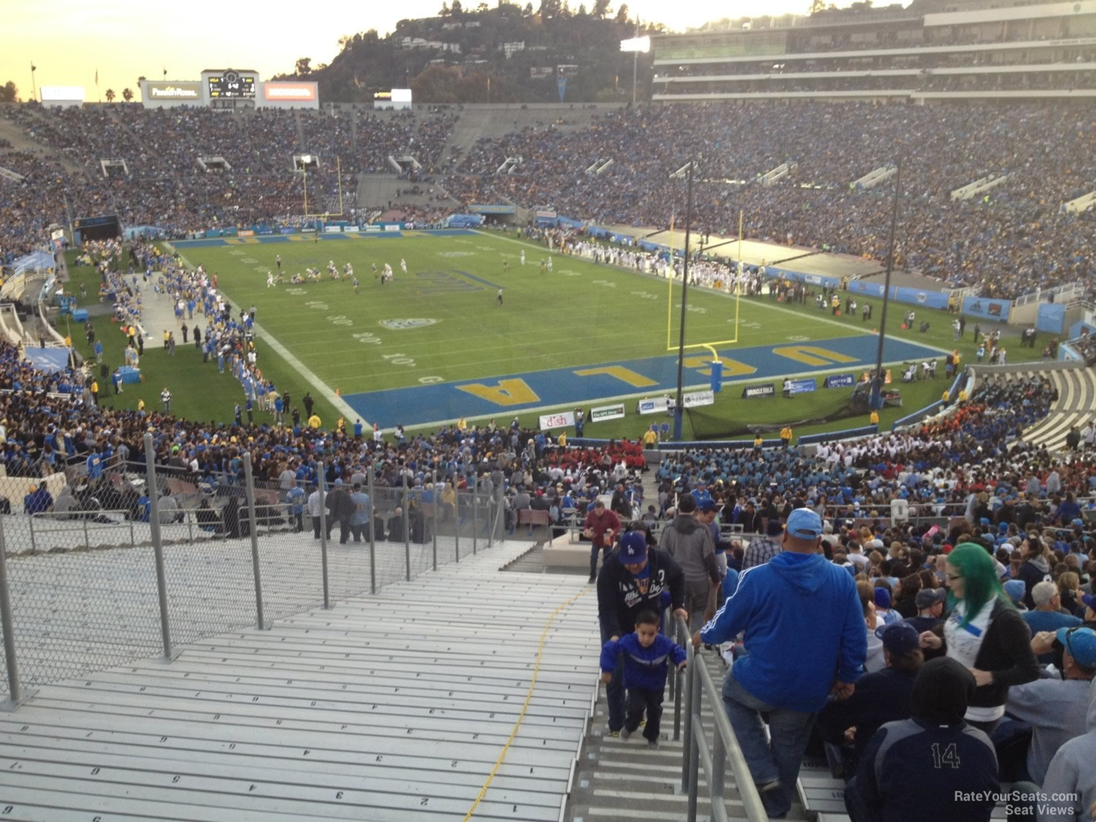 Seat View For Rose Bowl Stadium Section 10