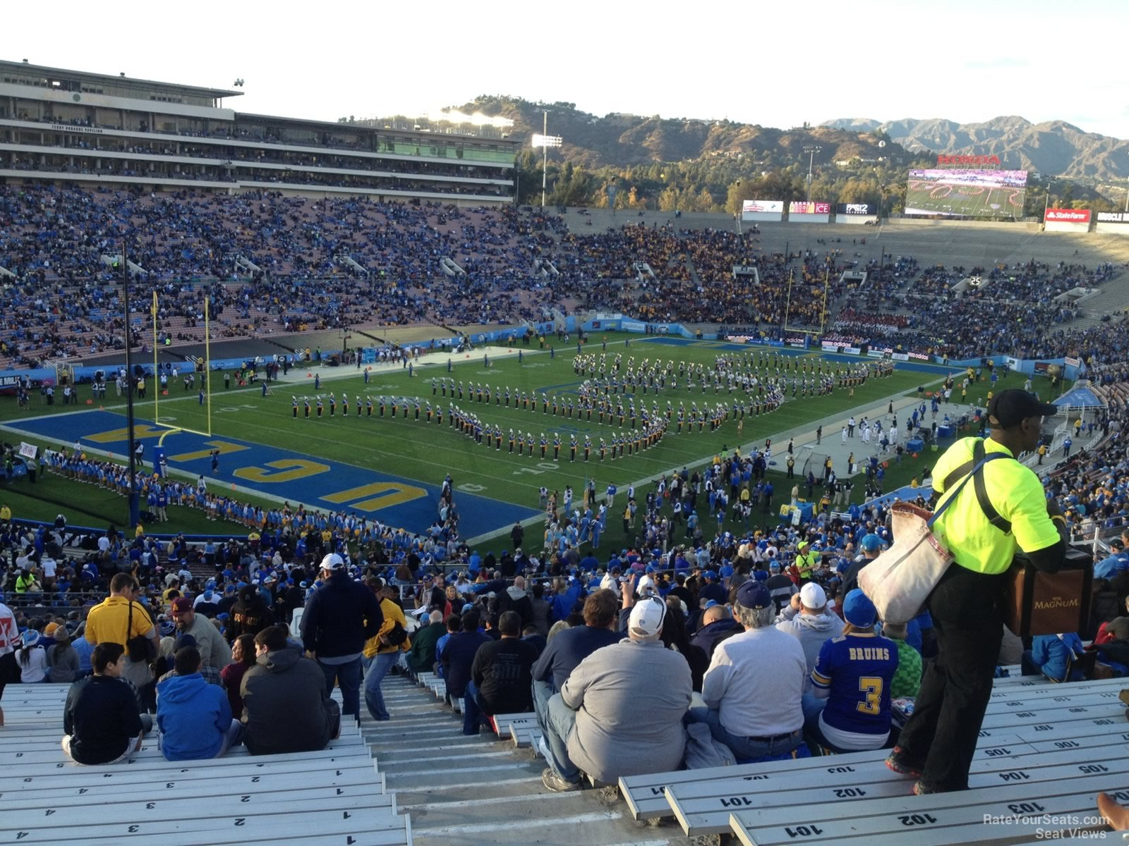 Seat View For Rose Bowl Stadium Section 28