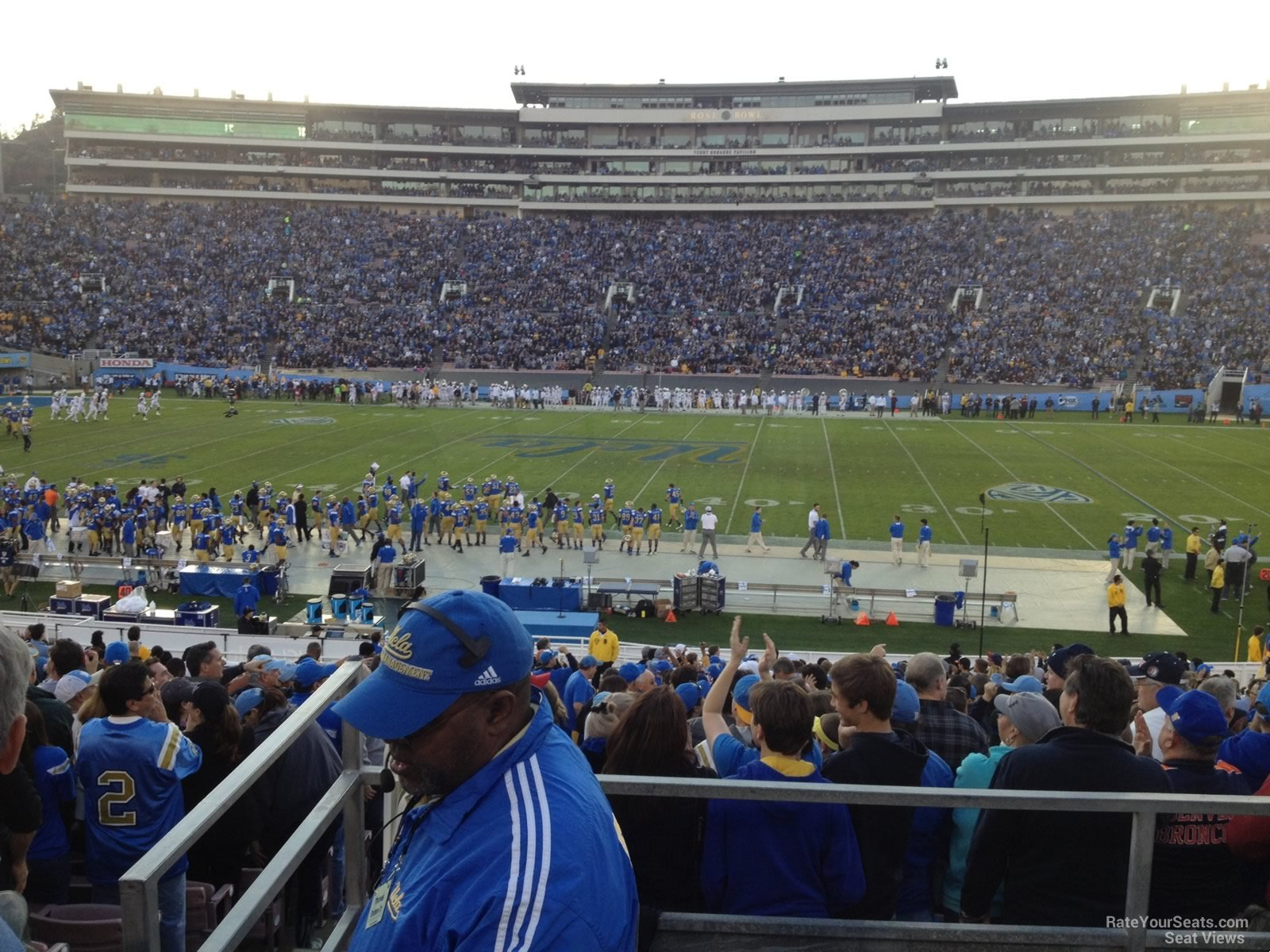 Rose Bowl Section 5