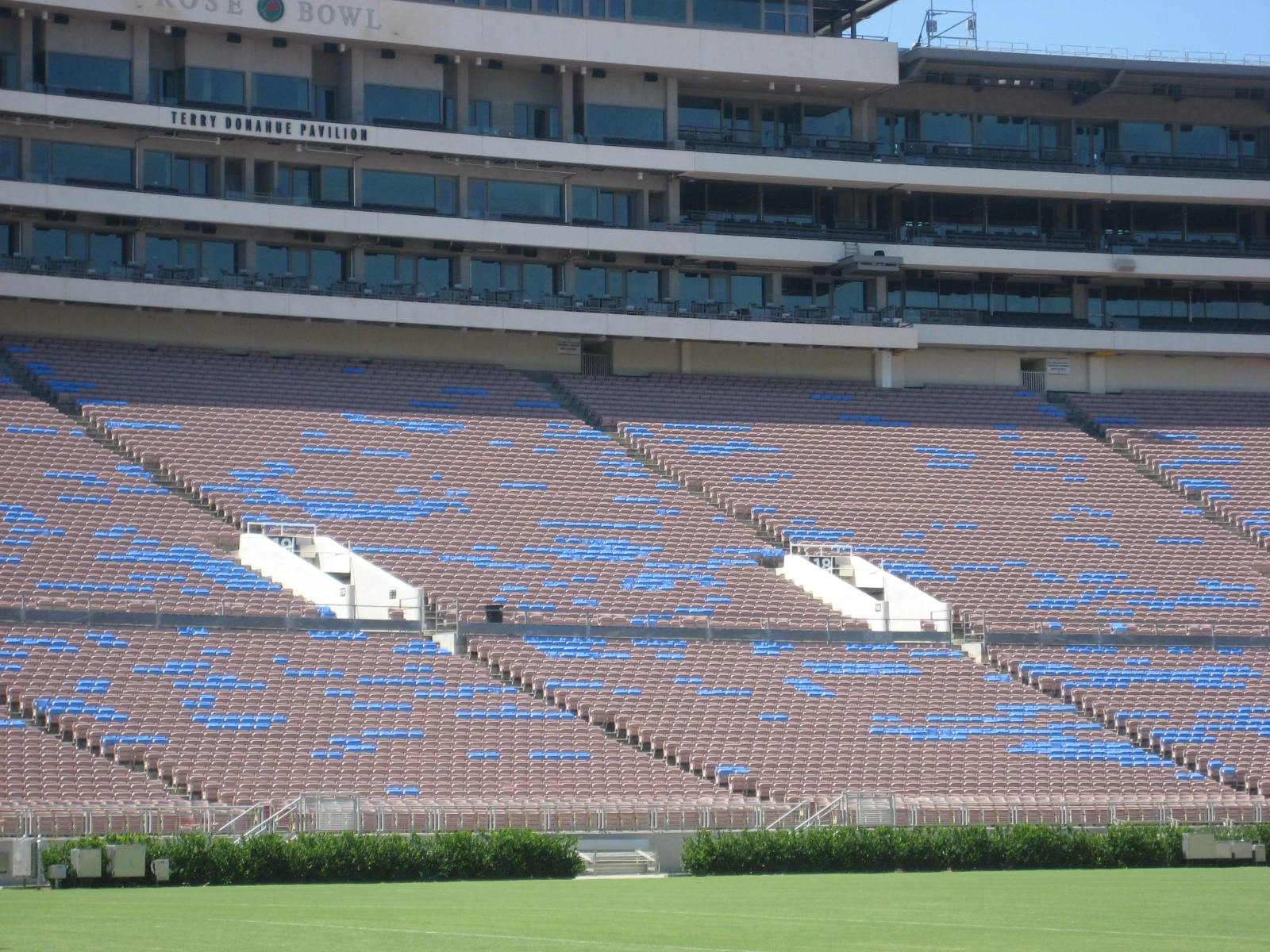 Rose Bowl Stadium Ucla Seating Guide
