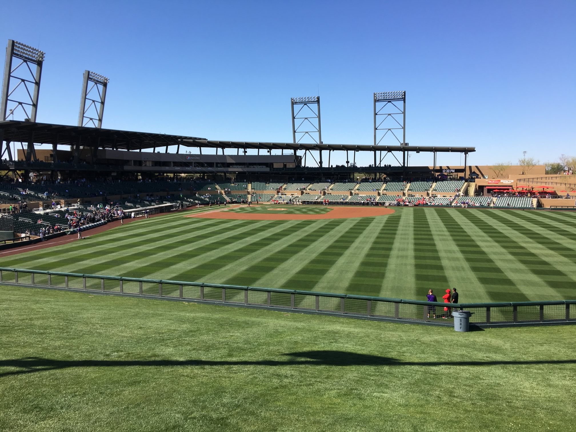 Right Field Lawn at Salt River Field