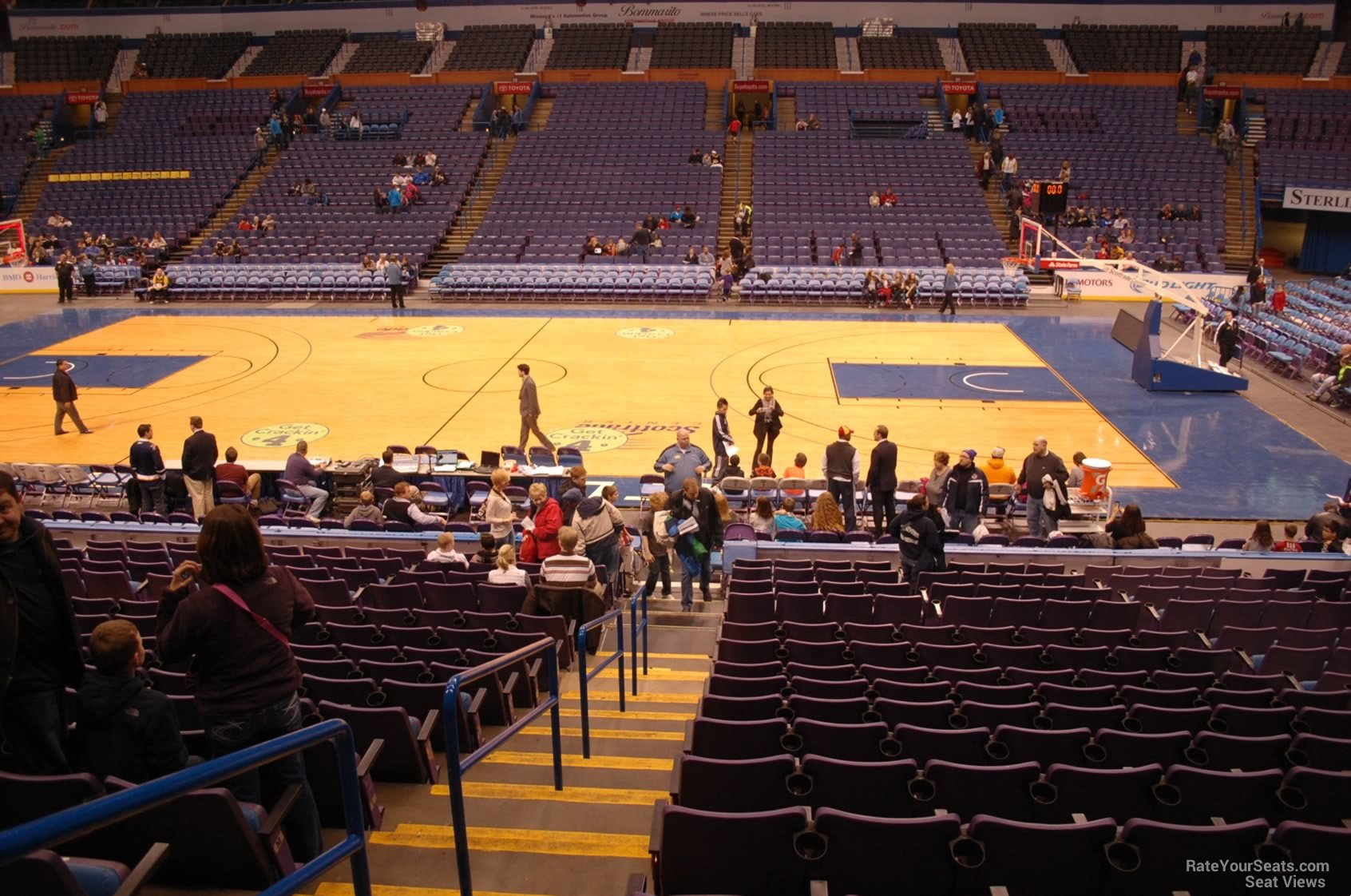Scottrade Center Section 103 Basketball Seating
