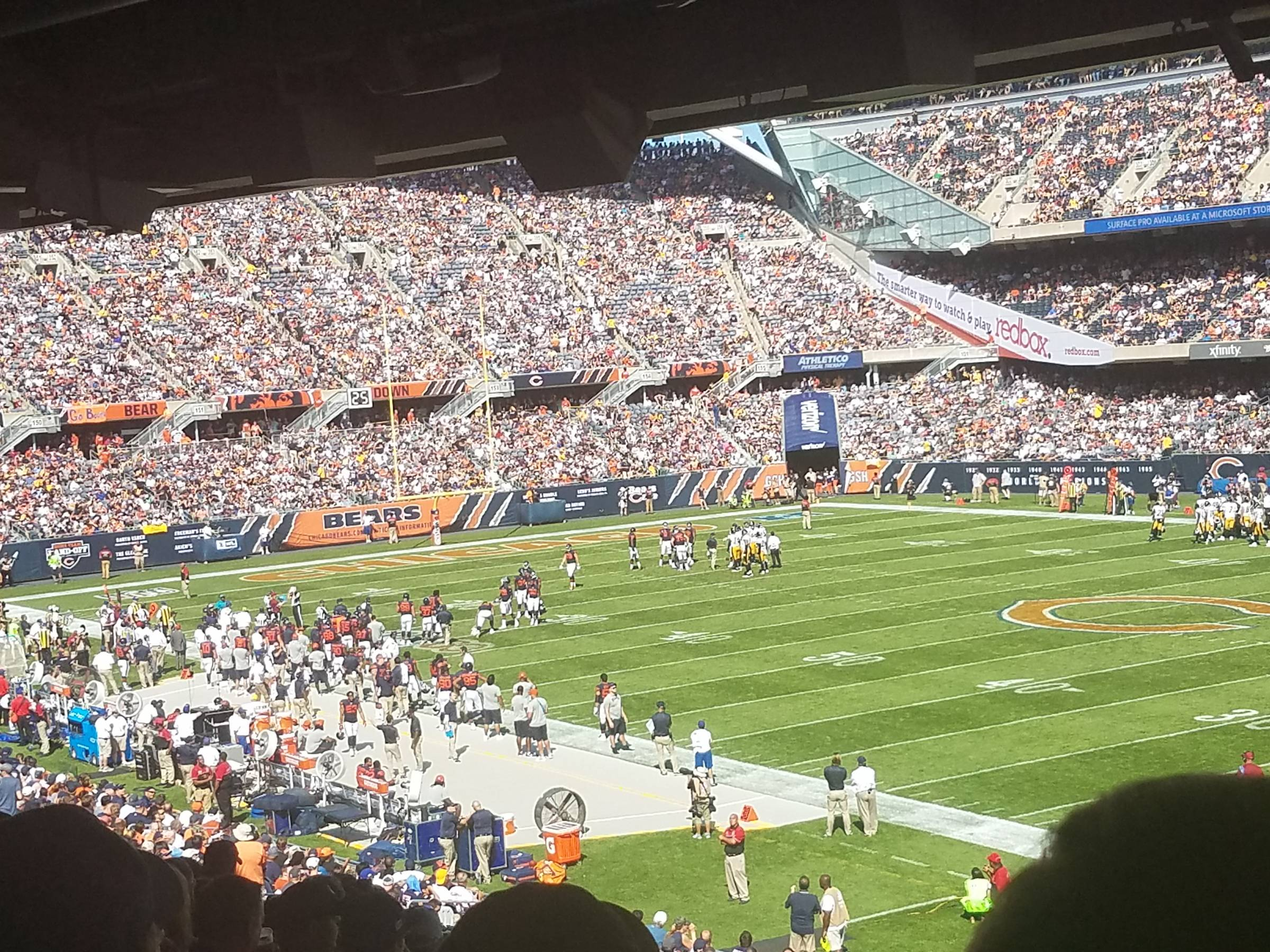 5b39391e Chicago Bears Seating Guide - Soldier Field - RateYourSeats.com