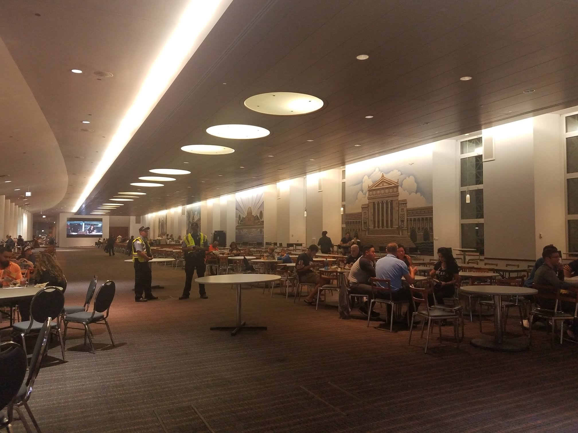 united club dining hall