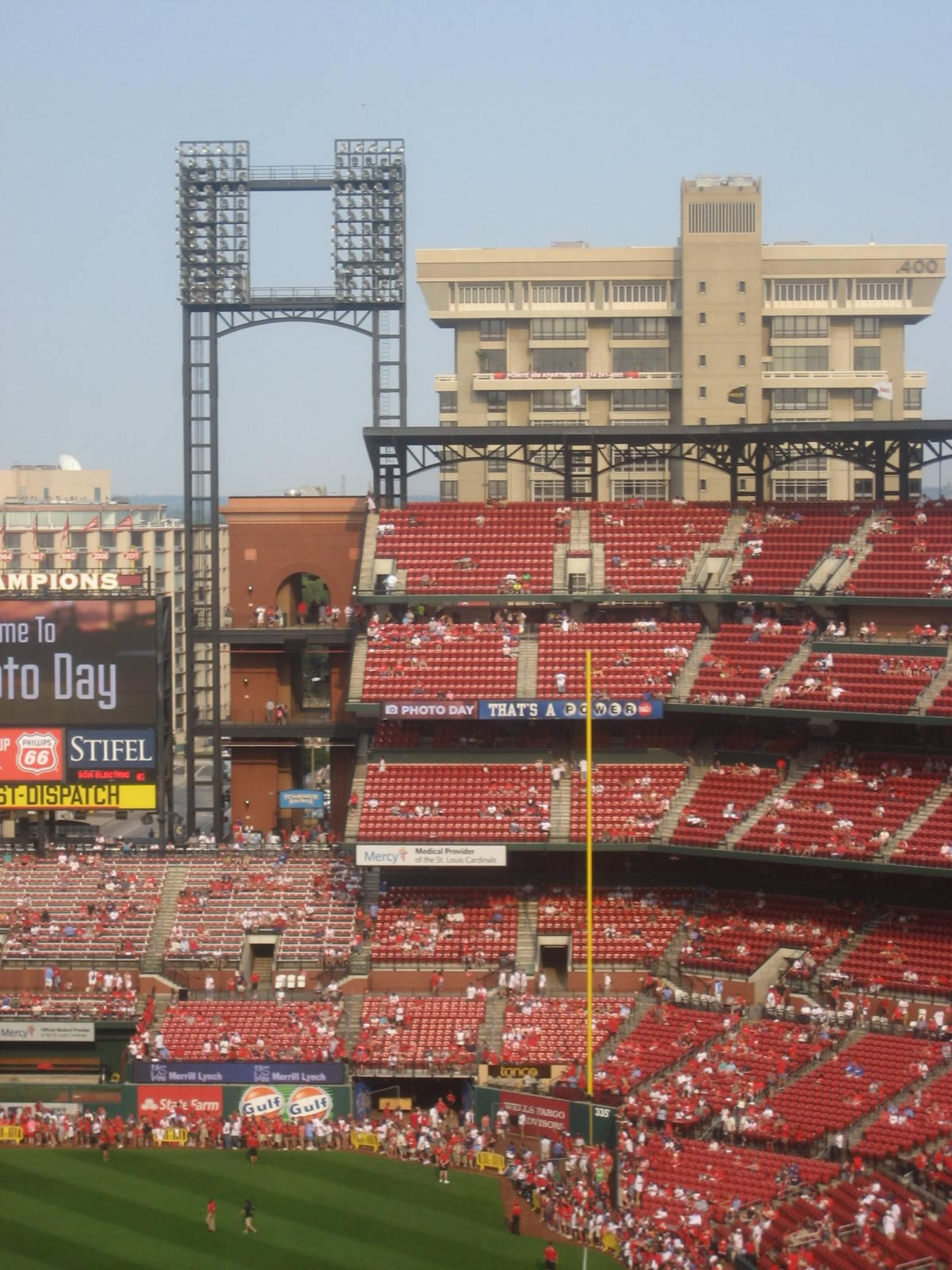 St Louis Cardinals Seating Guide Busch Stadium Rateyourseatscom