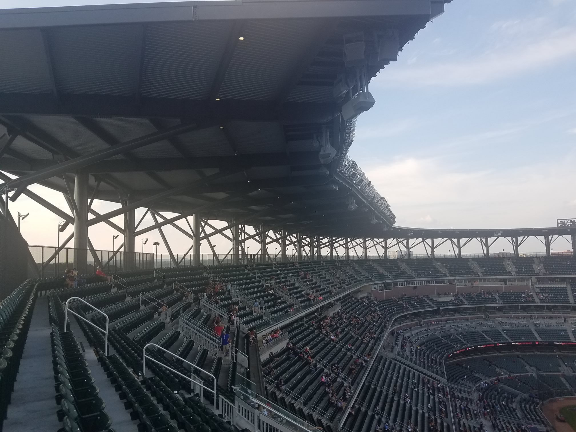 Shaded and Covered Seating at SunTrust Park - RateYourSeats com