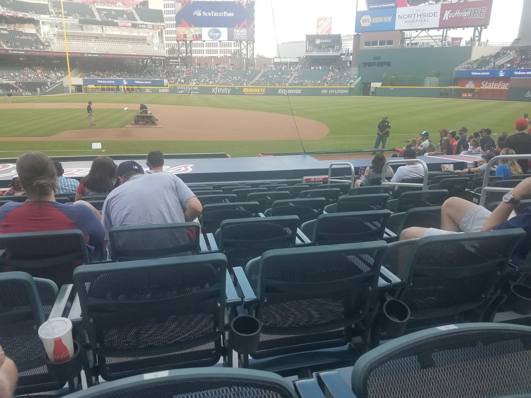 braves dugout club seats